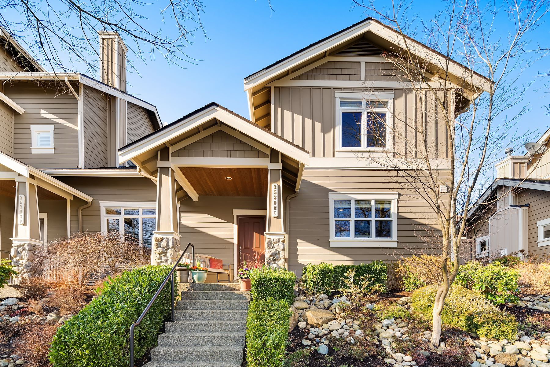 Single Family Homes for Sale at Sensational Snoqualmie Ridge Craftsman 35308 SE Ridge St Unit #C Snoqualmie, Washington 98065 United States
