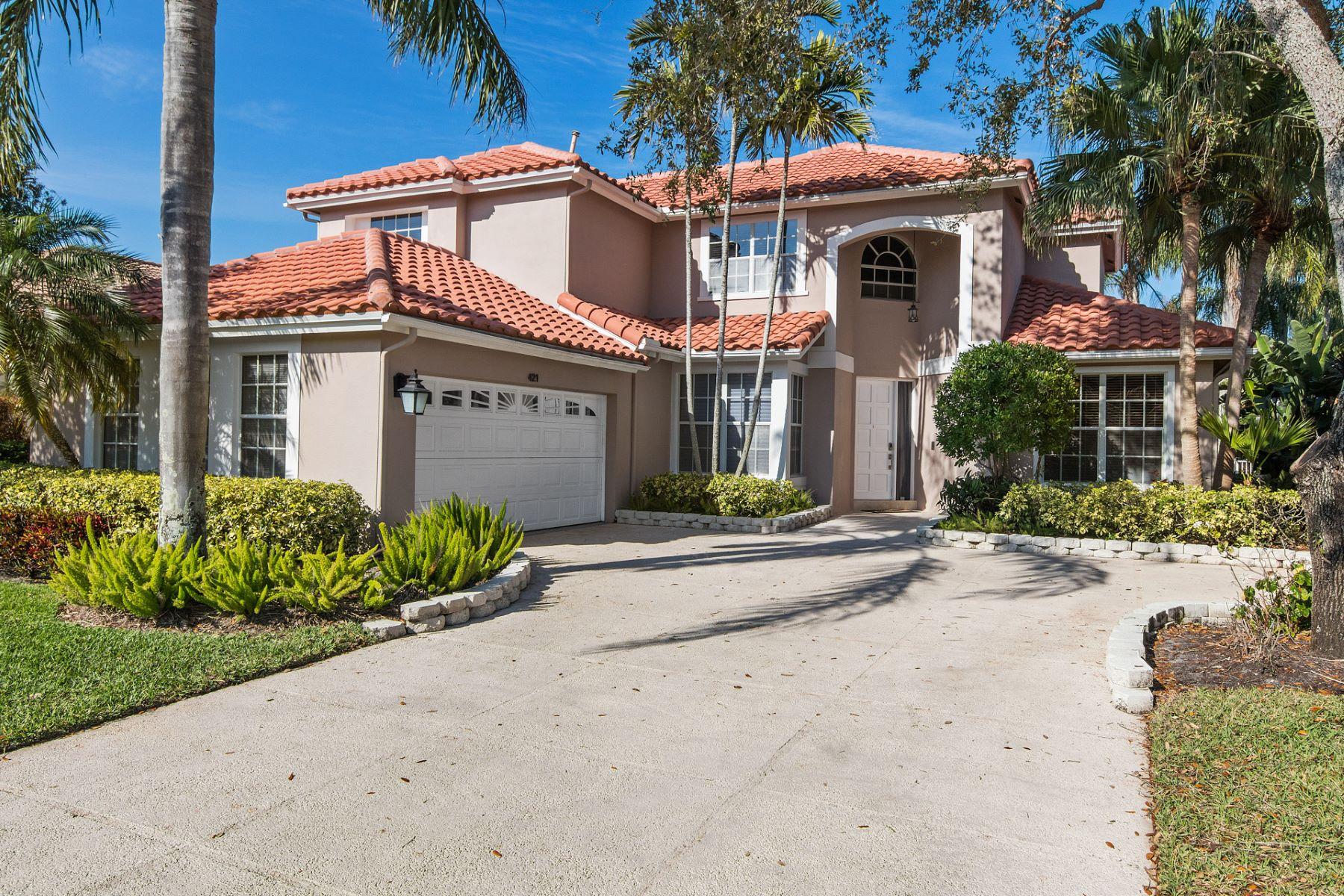 Casa para uma família para Venda às 421 Eagleton Cove Way Palm Beach Gardens, Florida, 33418 Estados Unidos