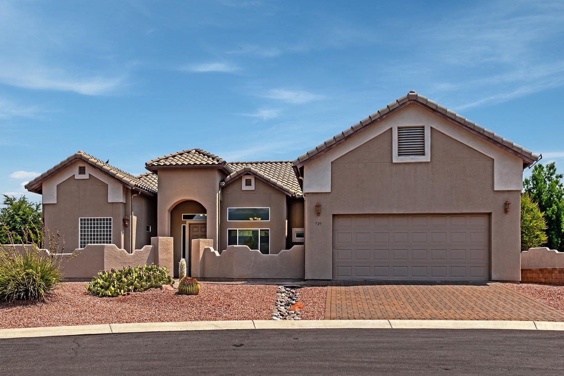 single family homes for Active at Beautiful Biella model in the prestigious La Privada at Verde Santa 925 S Pine Ridge Court Cornville, Arizona 86325 United States