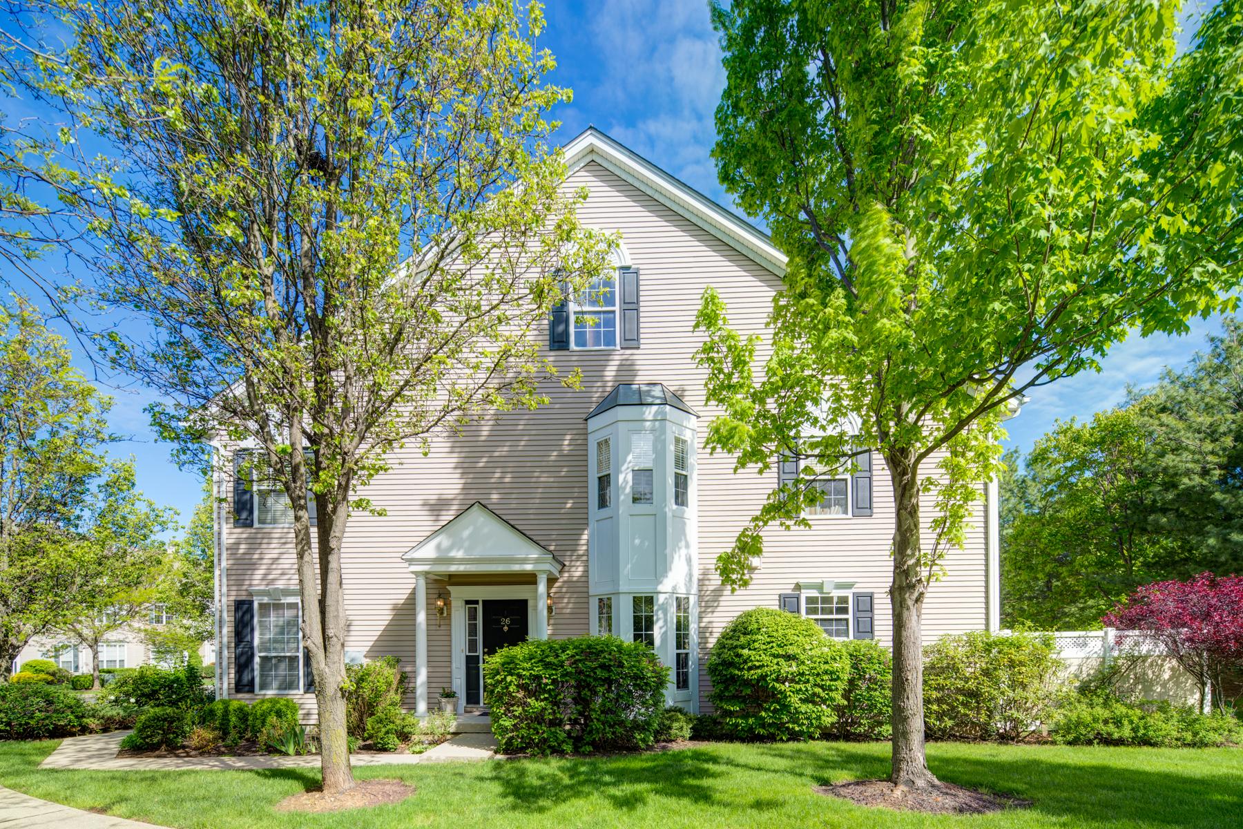 Casa unifamiliar adosada (Townhouse) por un Venta en Elegant Townhome 26 Battalion Drive Basking Ridge, Nueva Jersey, 07920 Estados Unidos