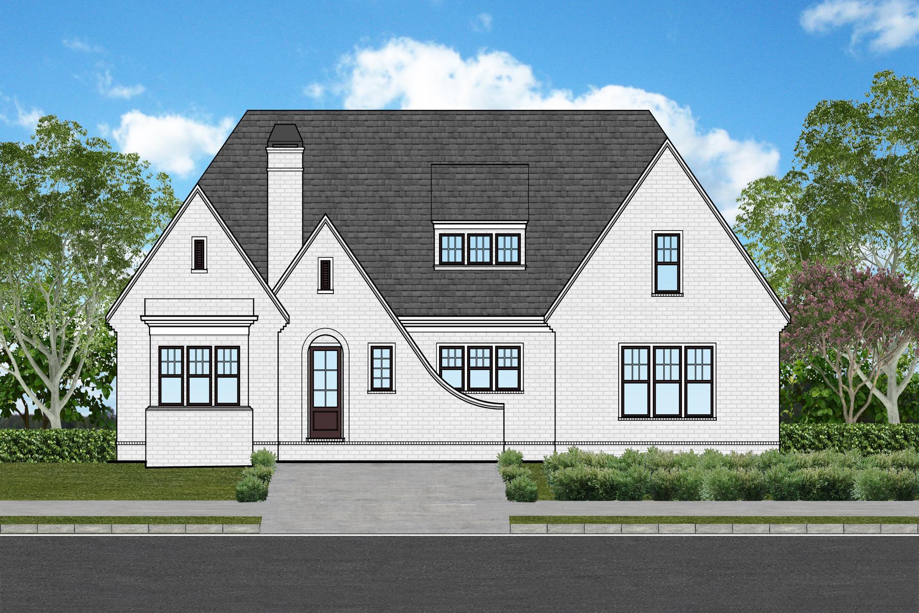 Частный односемейный дом для того Продажа на Beautiful New European Style Home 1417 Katherine Rose Lane Smyrna, Джорджия 30080 Соединенные Штаты