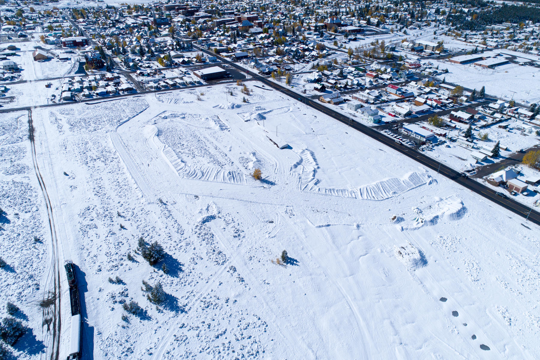 Land for Active at Large Commercial Lot At Railyard Leadville Community 388 Sizer Lot 10 Leadville, Colorado 80461 United States