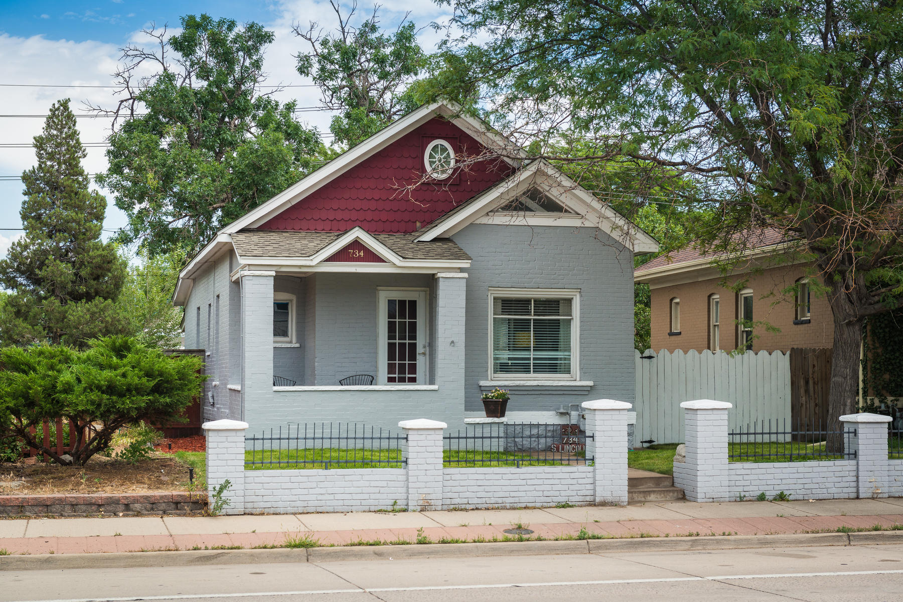 Single Family Home for Active at 734 South Lincoln Street Denver, Colorado 80209 United States