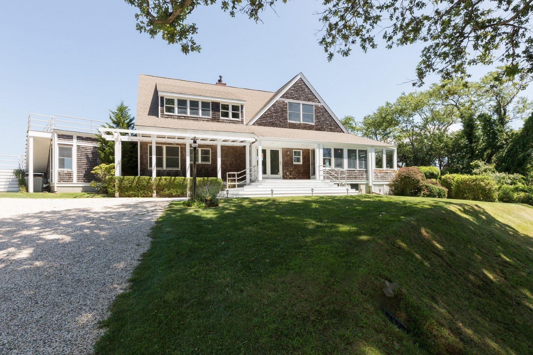 Single Family Home for Active at 85 Ram Island Dr , Shelter Island, NY 11964 85 & 90 Ram Island Dr Shelter Island, New York 11964 United States