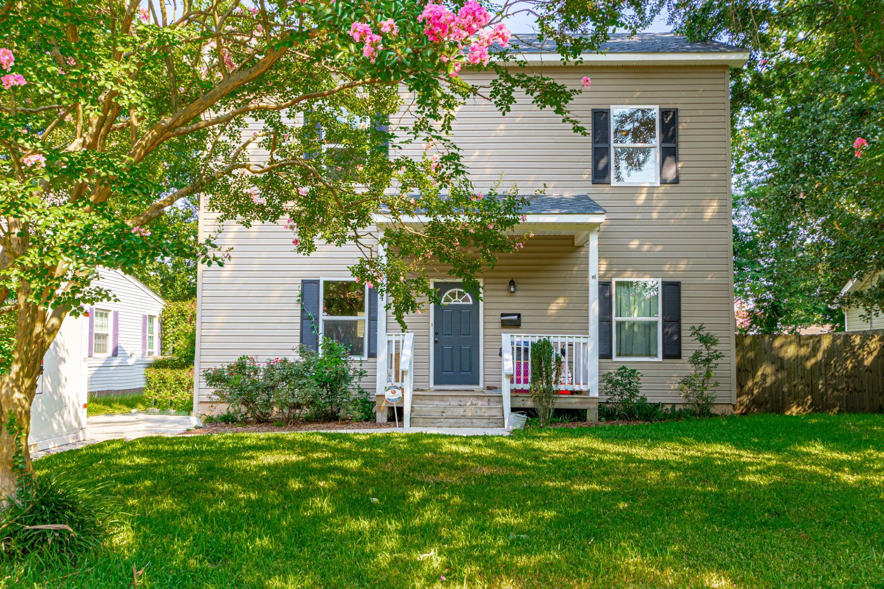 Single Family Homes por un Venta en Princess Anne Park 5244 Ashby St Norfolk, Virginia 23502 Estados Unidos