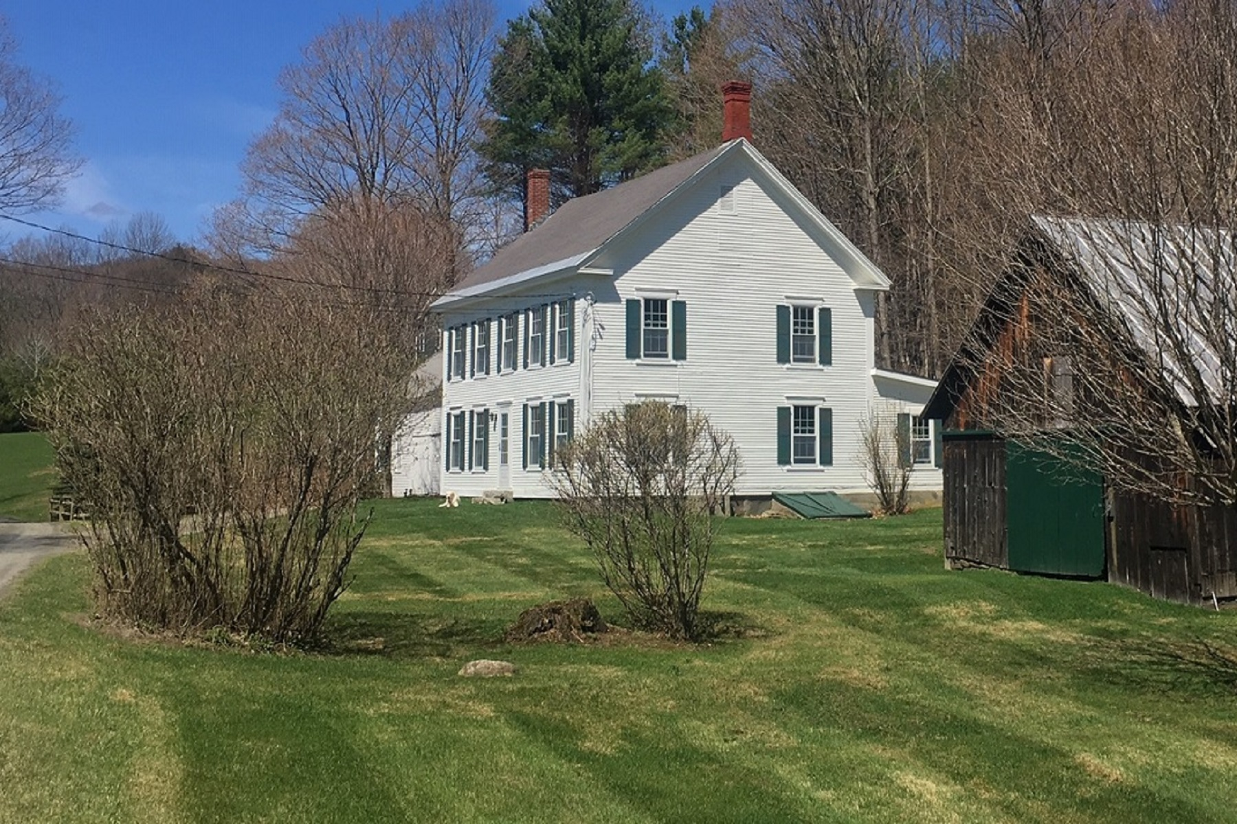 Single Family Homes for Sale at Harrington Family Homestead 390 Harrington Road West Windsor, Vermont 05037 United States