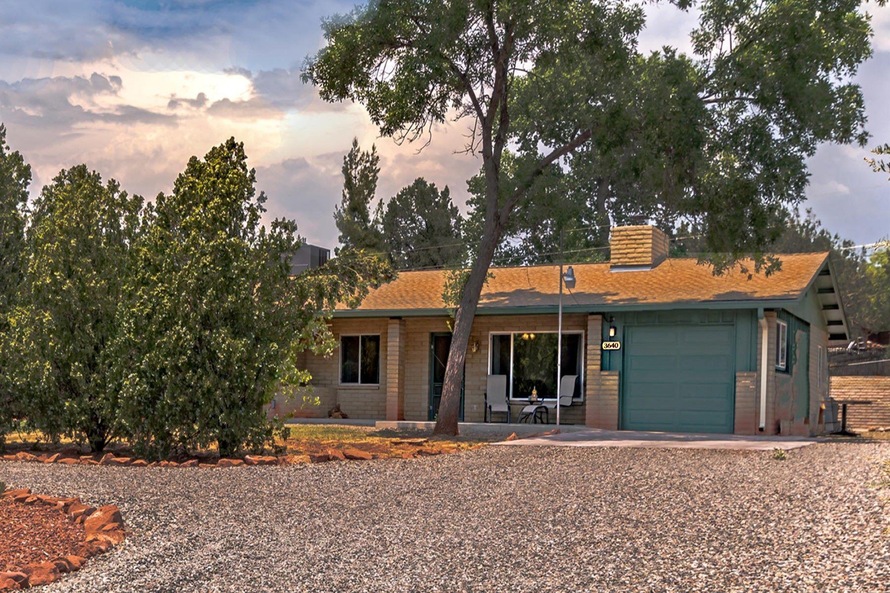 Single Family Home for Sale at Lovely single level home in Sedona 3640 Moki Drive Sedona, Arizona, 86336 United States