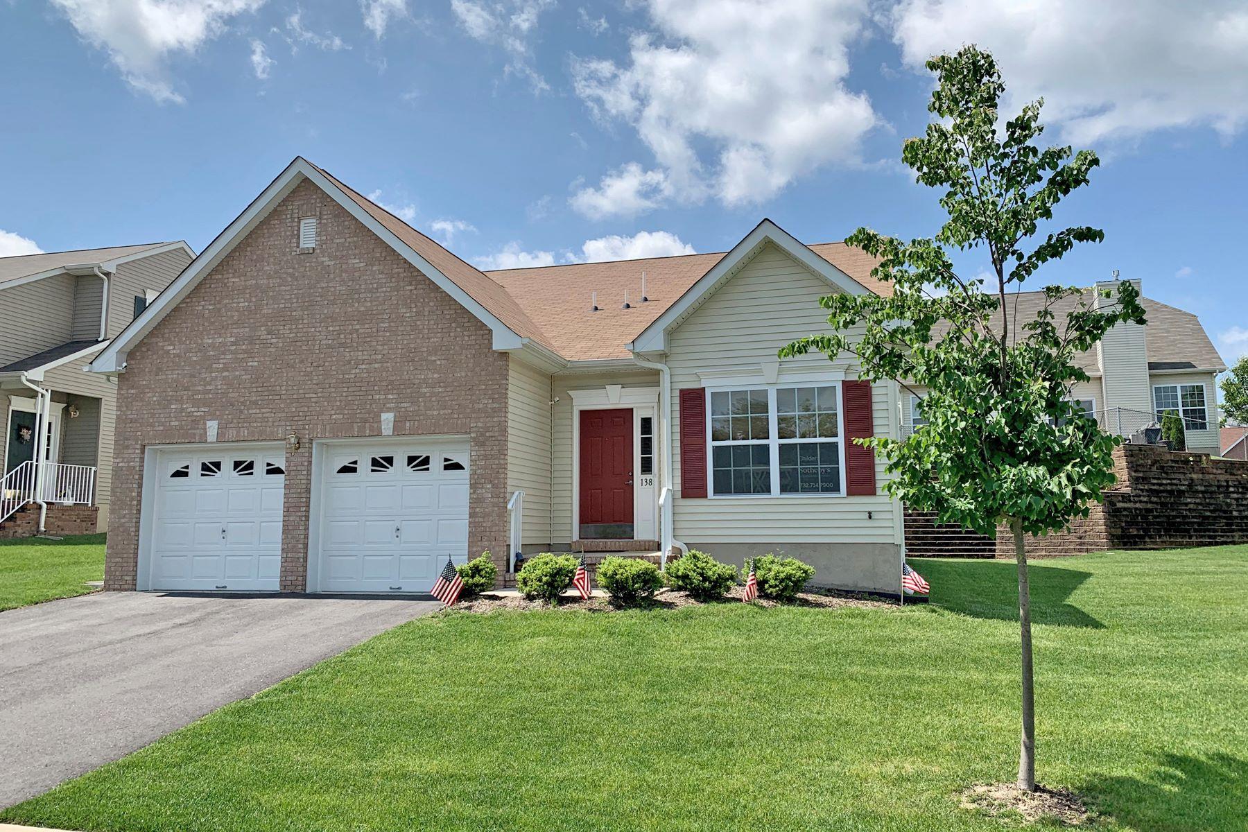 Single Family Homes por un Venta en Everest Model In Pine View Estates 138 Maypink Lane Howell, Nueva Jersey 07731 Estados Unidos
