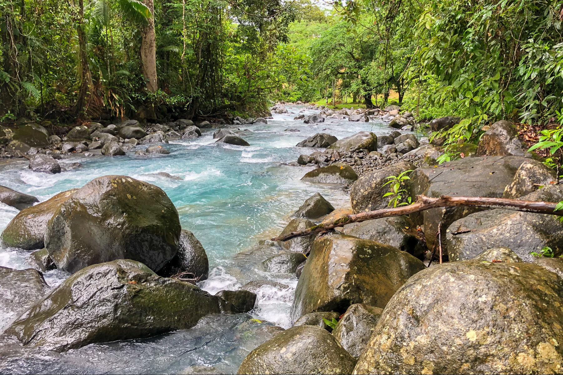Terreno por un Venta en Río Celeste 2.8ha para Desarrollo Turístico Guatuso, Alajuela Costa Rica