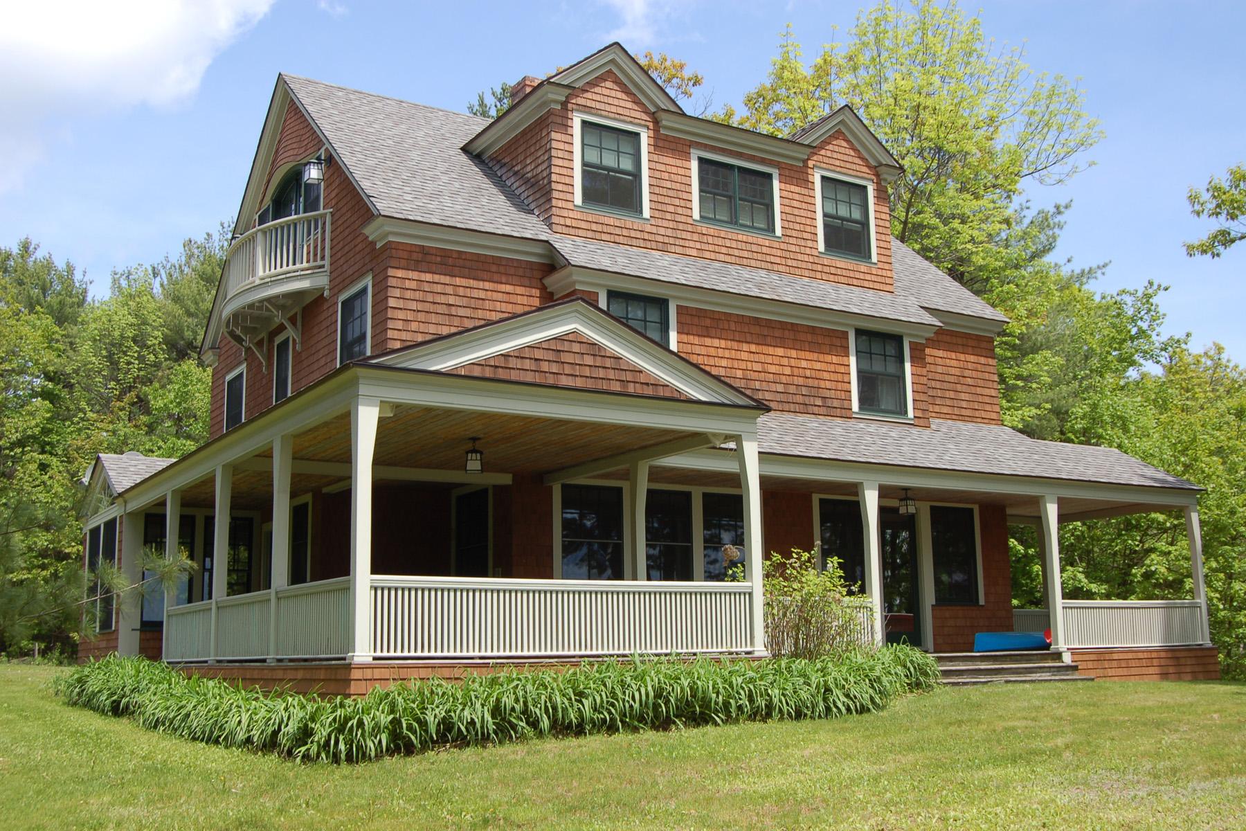 Частный односемейный дом для того Продажа на 61 Browns Hill, Sunapee Sunapee, Нью-Гэмпшир, 03782 Соединенные Штаты