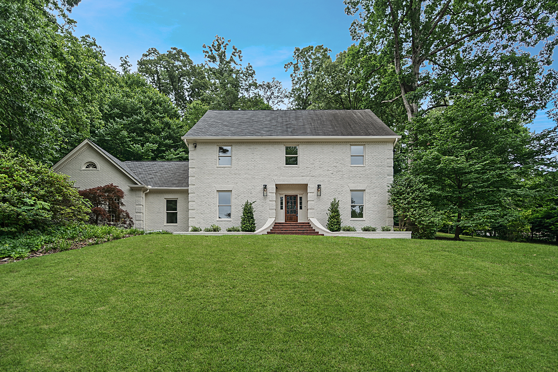 Single Family Home for Sale at Total Renovation In Buckhead Atop A Private 1.2+/- Acre Lot 1210 Regency Road NW Atlanta, Georgia 30327 United States