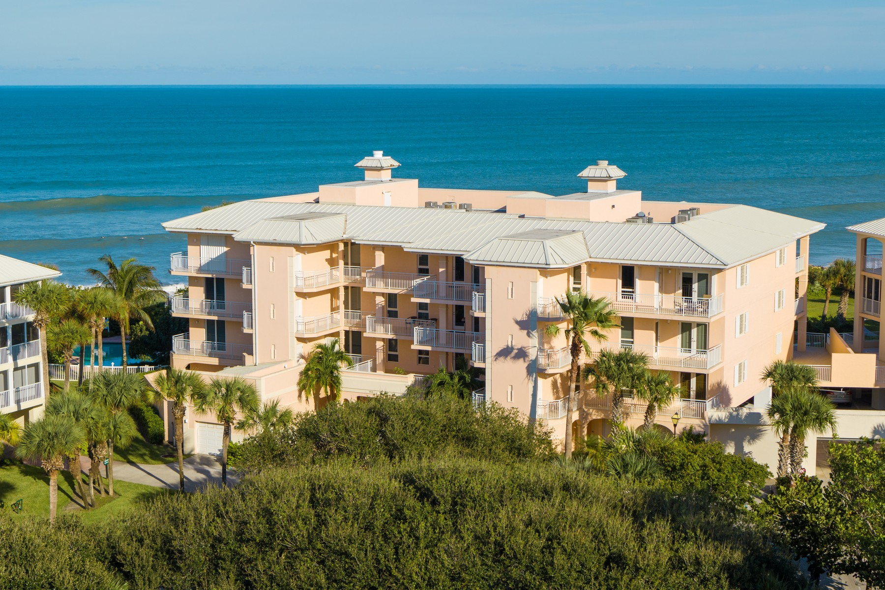 Condominiums for Sale at Spectacular Direct Oceanfront Condo 8876 N Sea Oaks Way #406 Vero Beach, Florida 32963 United States