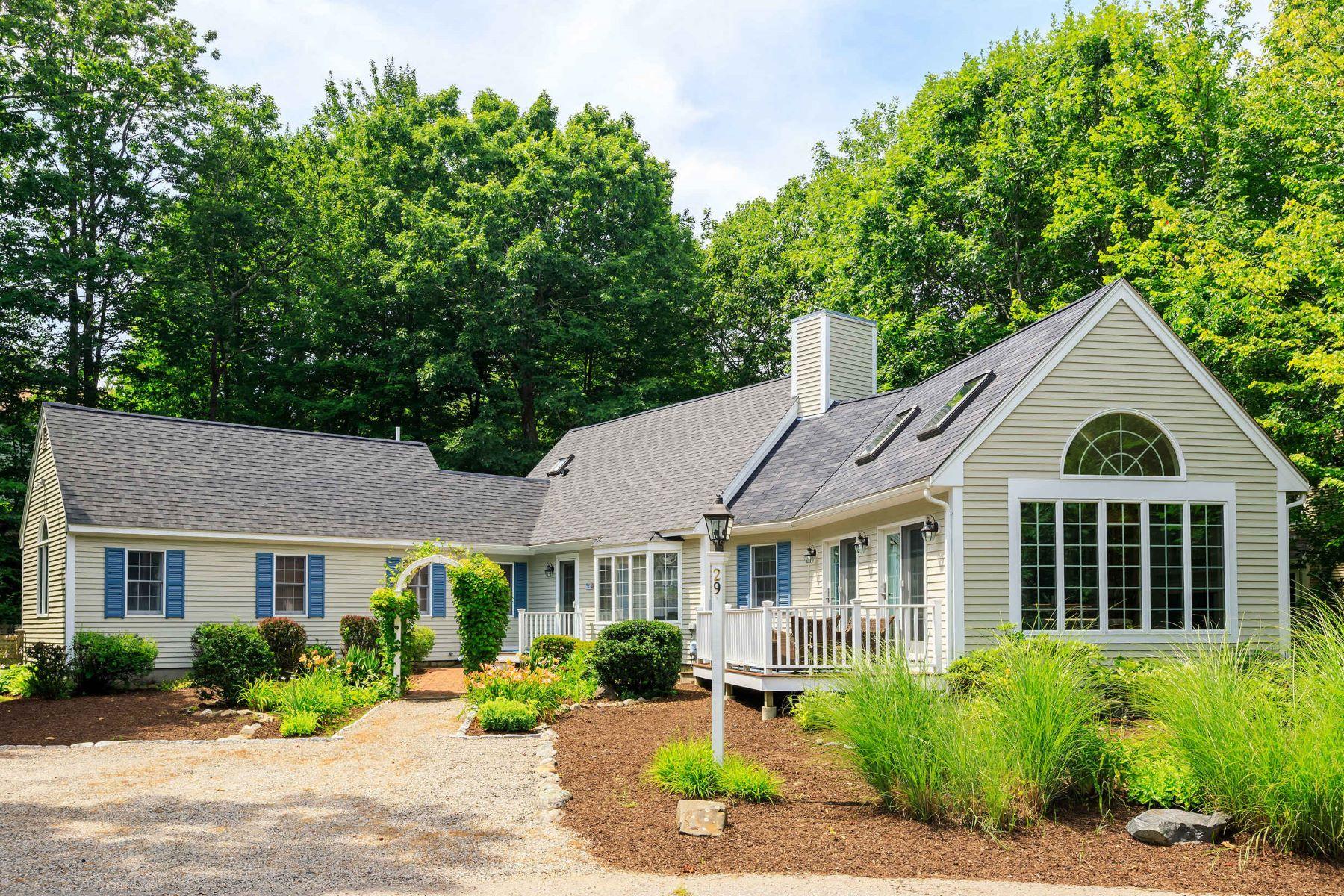 Single Family Homes for Sale at Contemporary by Ogunquit Center 29 Abenaki Lane Ogunquit, Maine 03907 United States