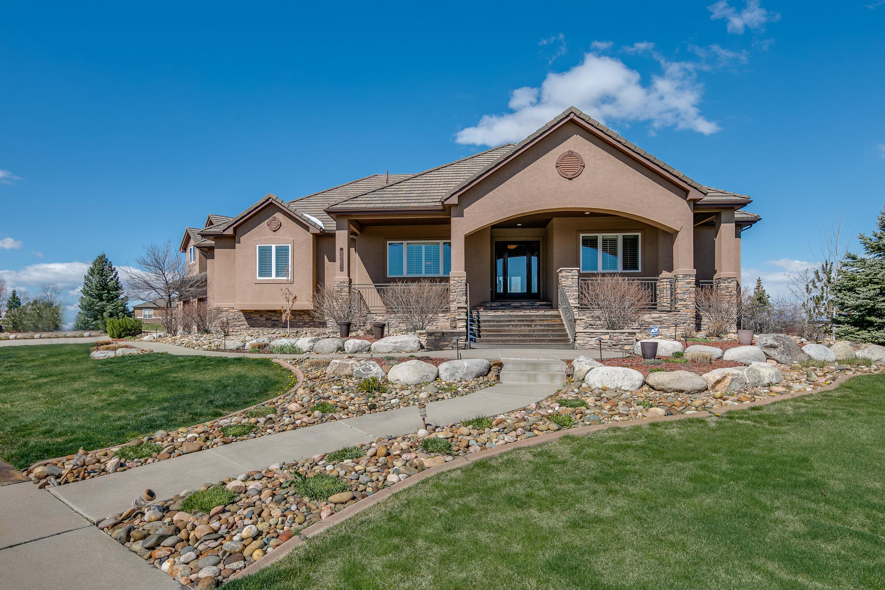 Single Family Homes for Sale at Sweeping Mountain Views 2236 Driver Ln, Erie, Colorado 80516 United States