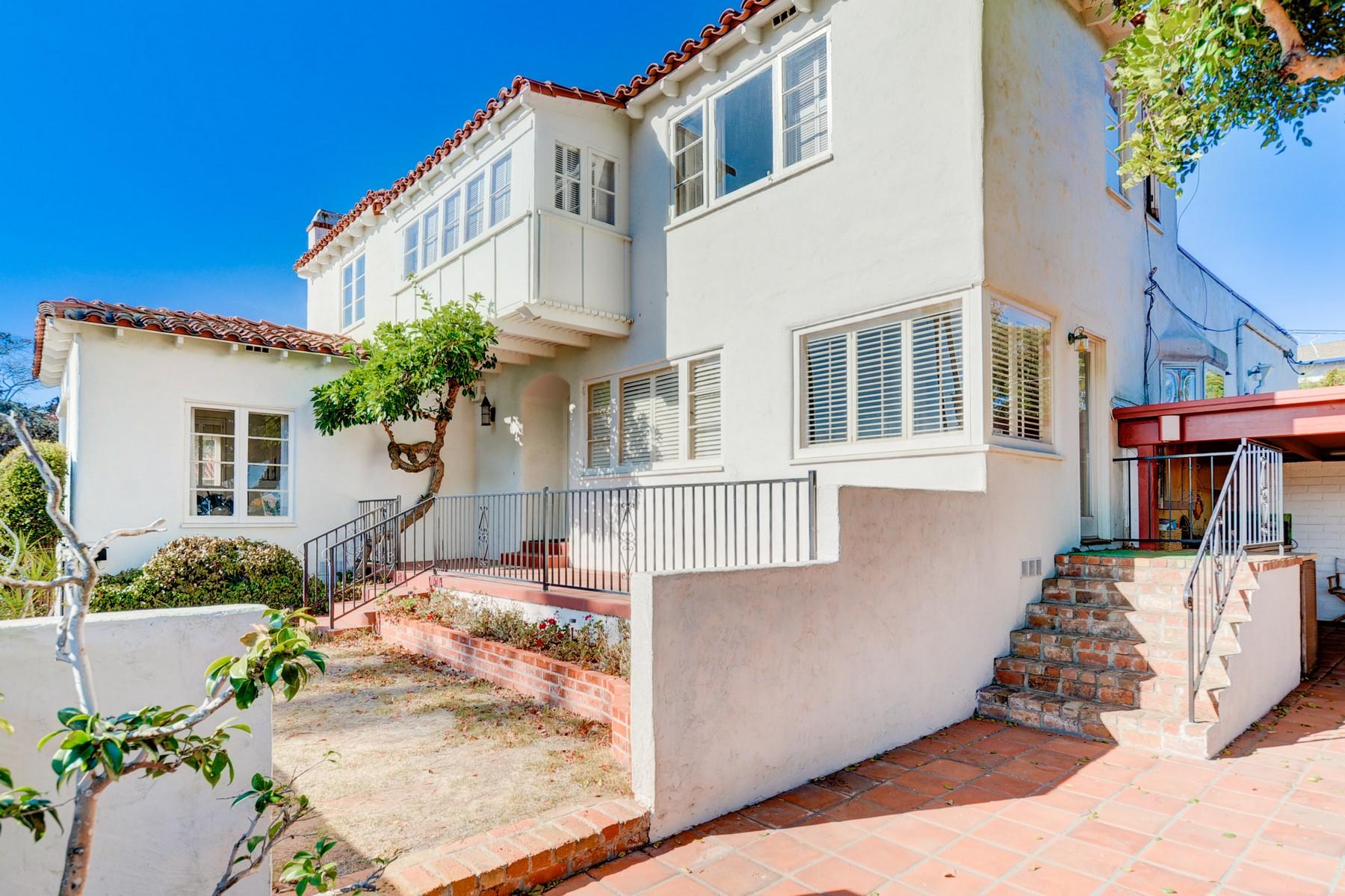 獨棟家庭住宅 為 出售 在 1610 Santa Barbara Street Ocean Beach, San Diego, 加利福尼亞州, 92107 West, 美國