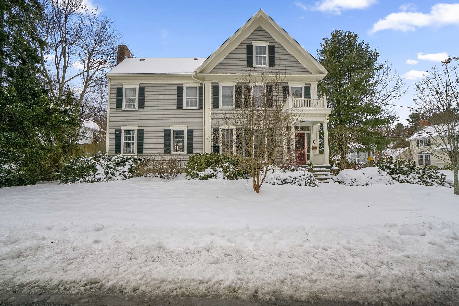 Single Family Home for Active at 78 Village Ave, Precinct One, Dedham 78 Village Avenue Precinct One Dedham, Massachusetts 02026 United States