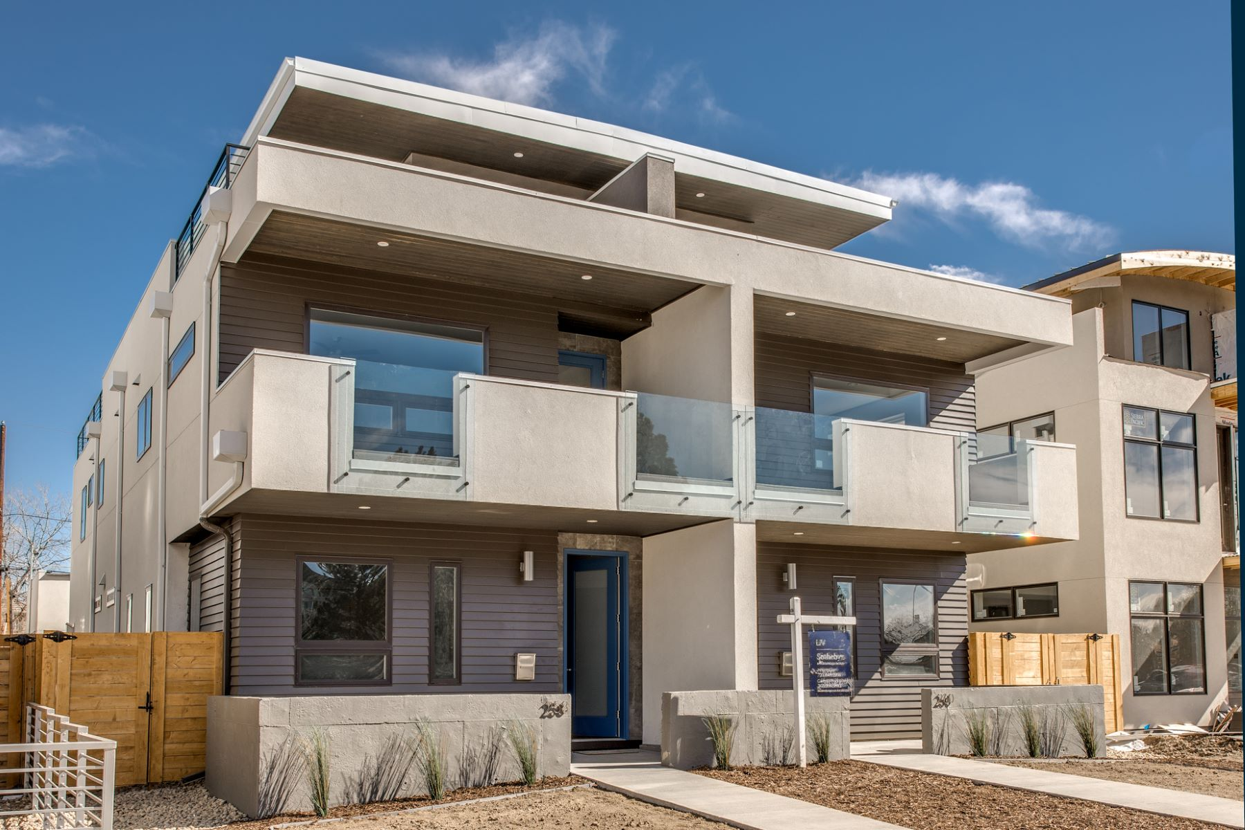Single Family Home for Sale at Urban Modern New Construction 260 South Madison Street Cherry Creek, Denver, Colorado, 80206 United States