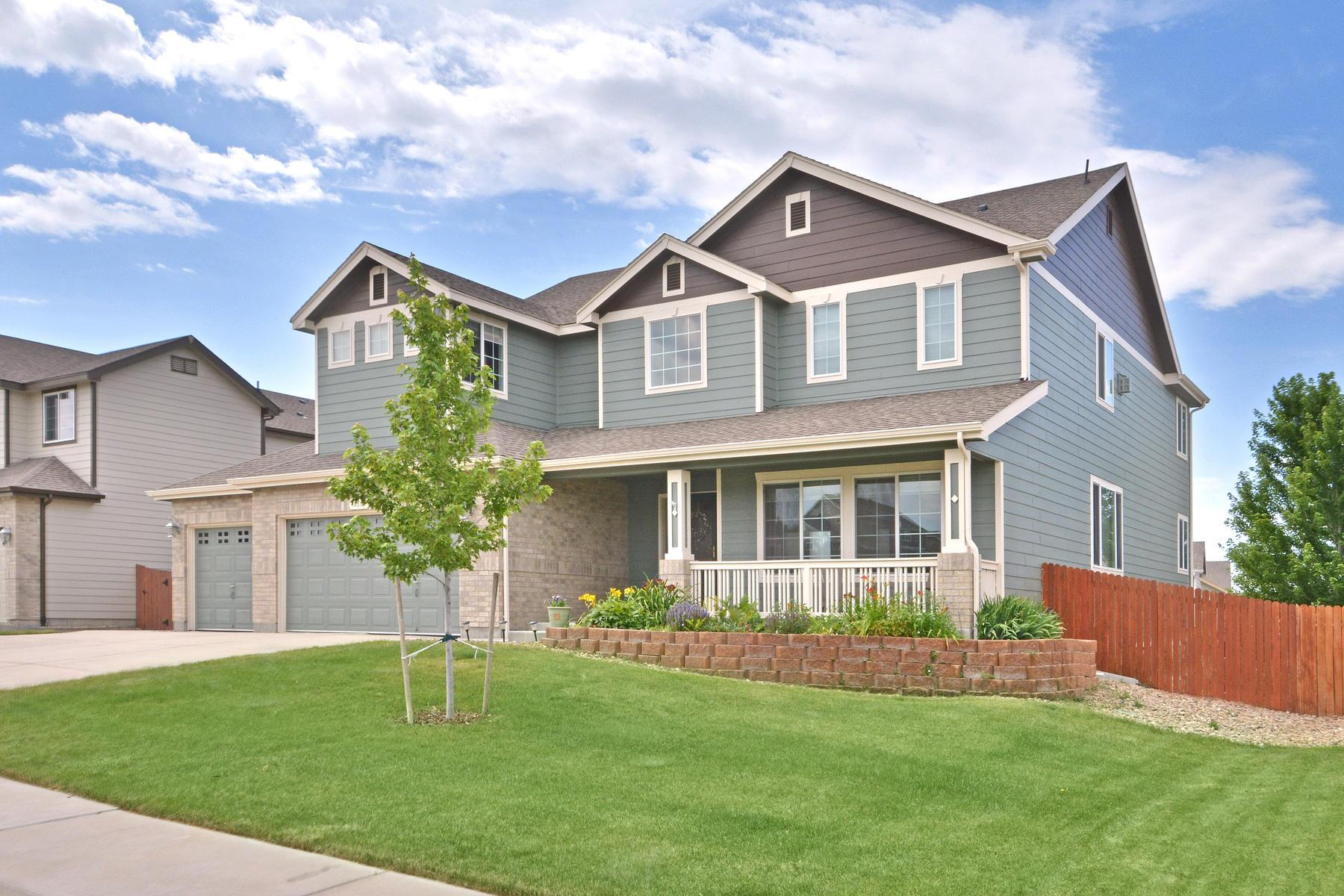 단독 가정 주택 용 매매 에 MUST See Fabulous Home With Beautiful Views! 810 Reliance Drive Erie, 콜로라도, 80516 미국