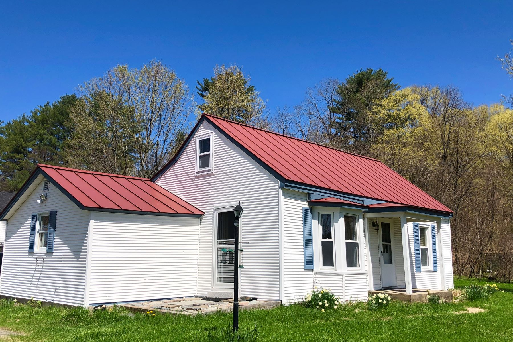 Single Family Homes for Sale at Two or Three bedroom Cape in Bradford 395 High St Bradford, Vermont 05033 United States