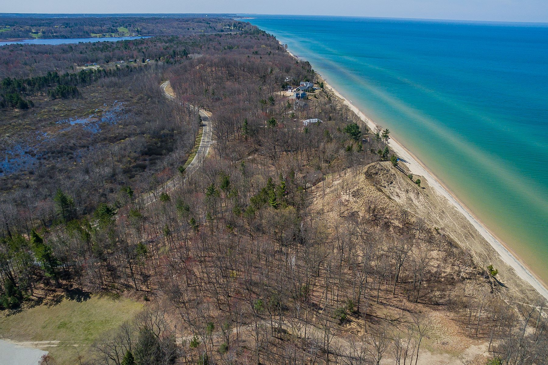 Land for Sale at Serene Lakeshore Property 4500 Lakeshore Road Lot 2 Manistee, Michigan 49660 United States
