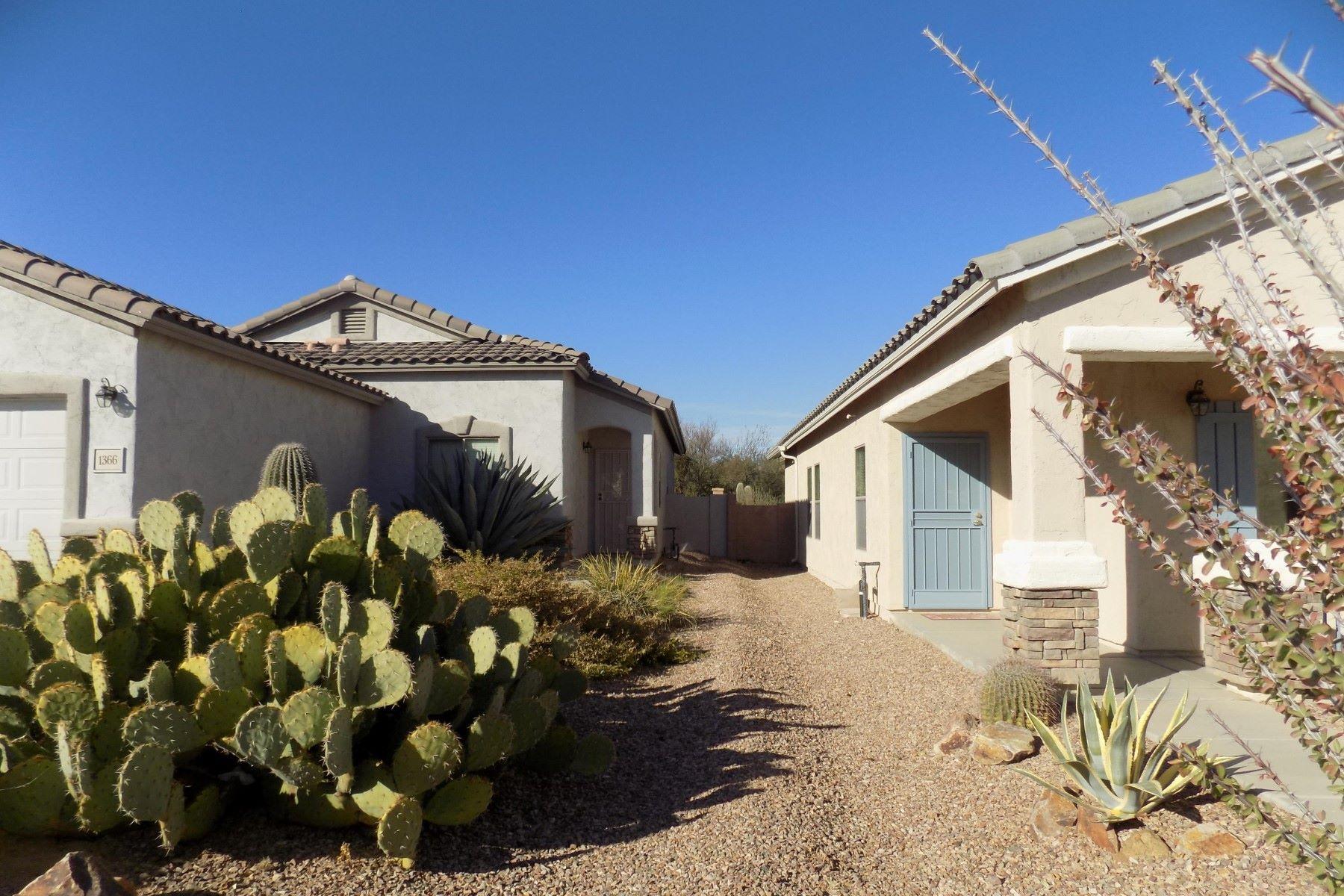 Частный односемейный дом для того Продажа на Well Designed Low Maintenance Home 1366 W Calle Las Guijas, Sahuarita, Аризона, 85629 Соединенные Штаты