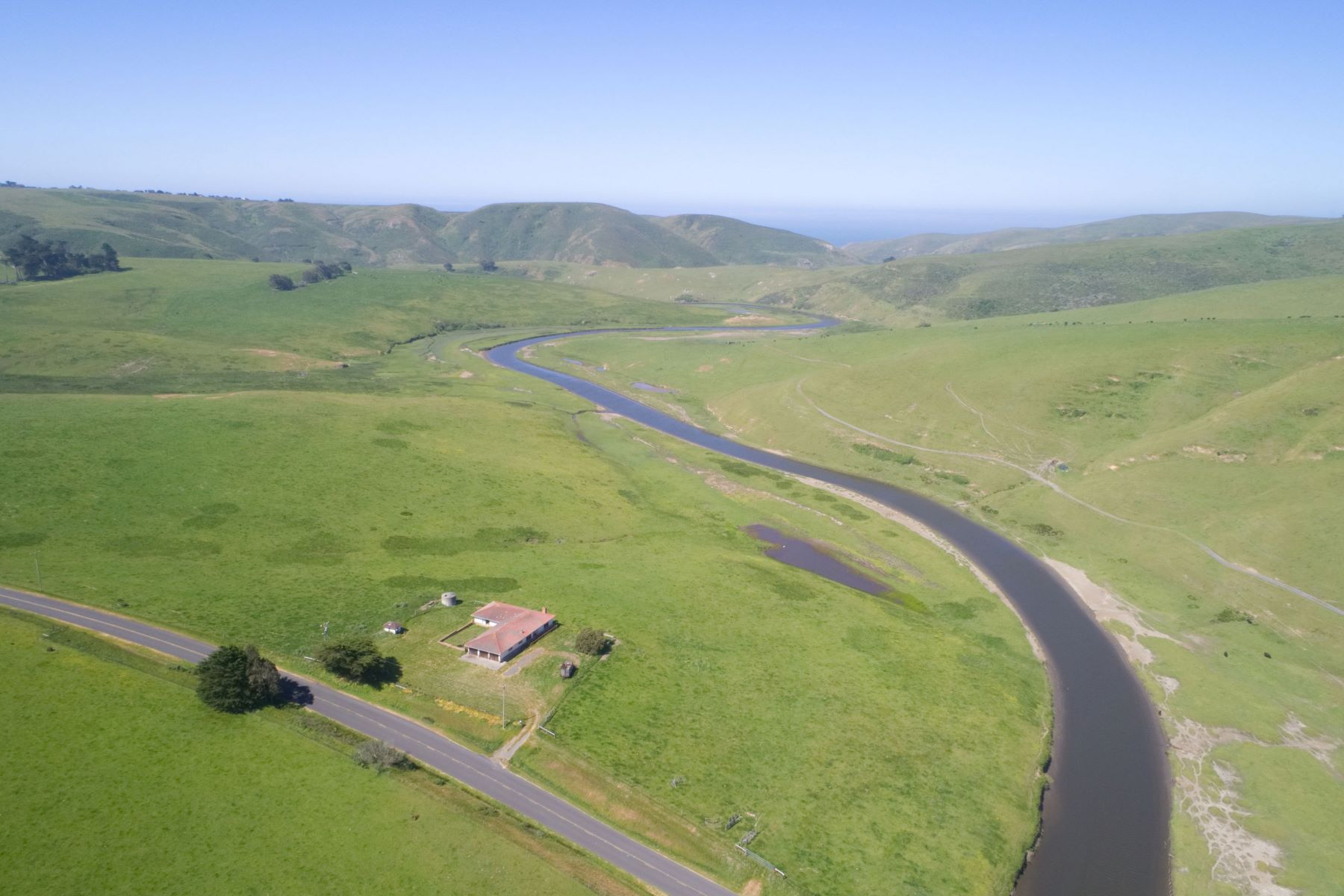 Single Family Homes for Active at 5 Bed, 3 Bath on 47 River-Front Acres 4600 Valley Ford Franklin School Road Petaluma, California 94953 United States