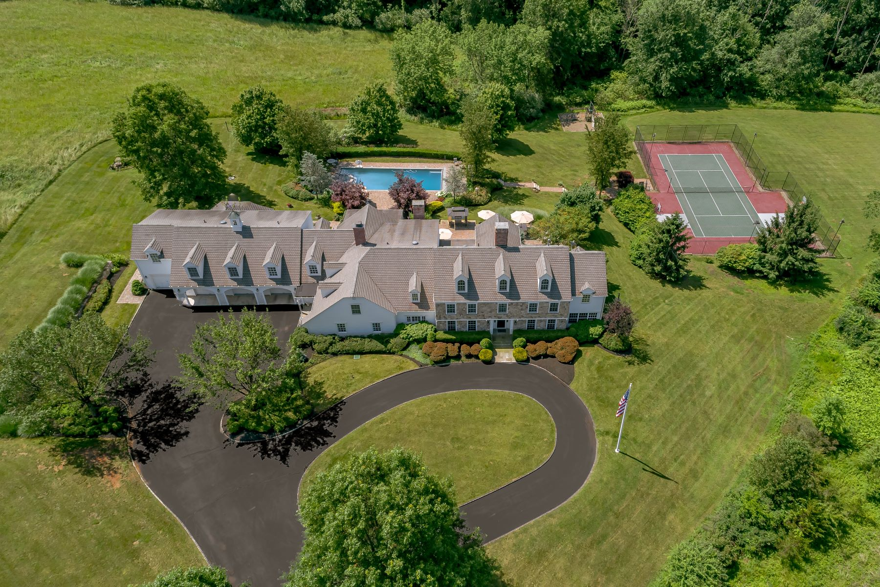 """Single Family Homes for Sale at """"Oakland Farm"""" 520 Pottersville Road Bedminster, New Jersey 07921 United States"""