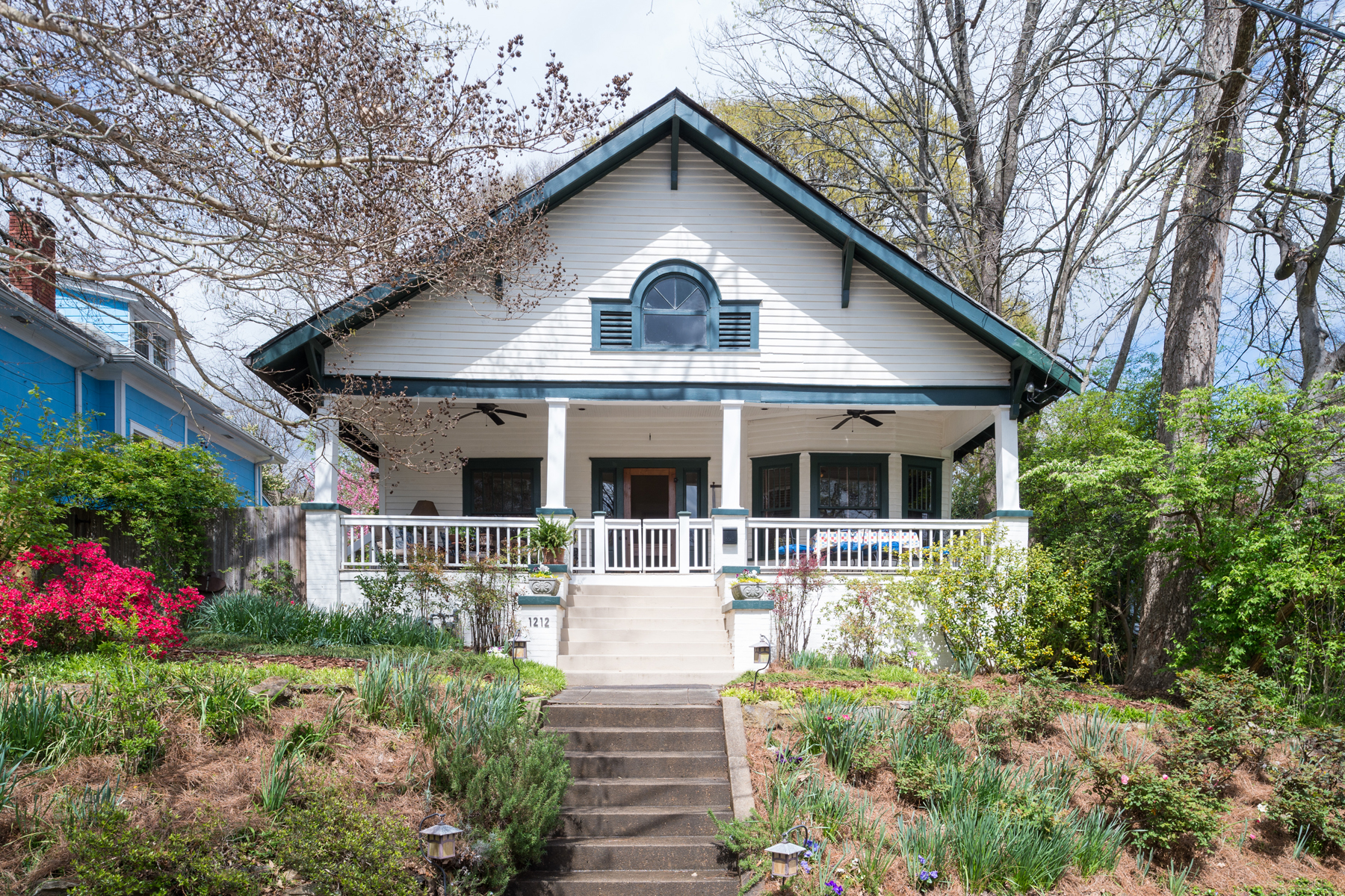 Single Family Home for Sale at Beautiful Vintage Craftsman Home 1212 Mansfield Ave Atlanta, Georgia 30307 United States