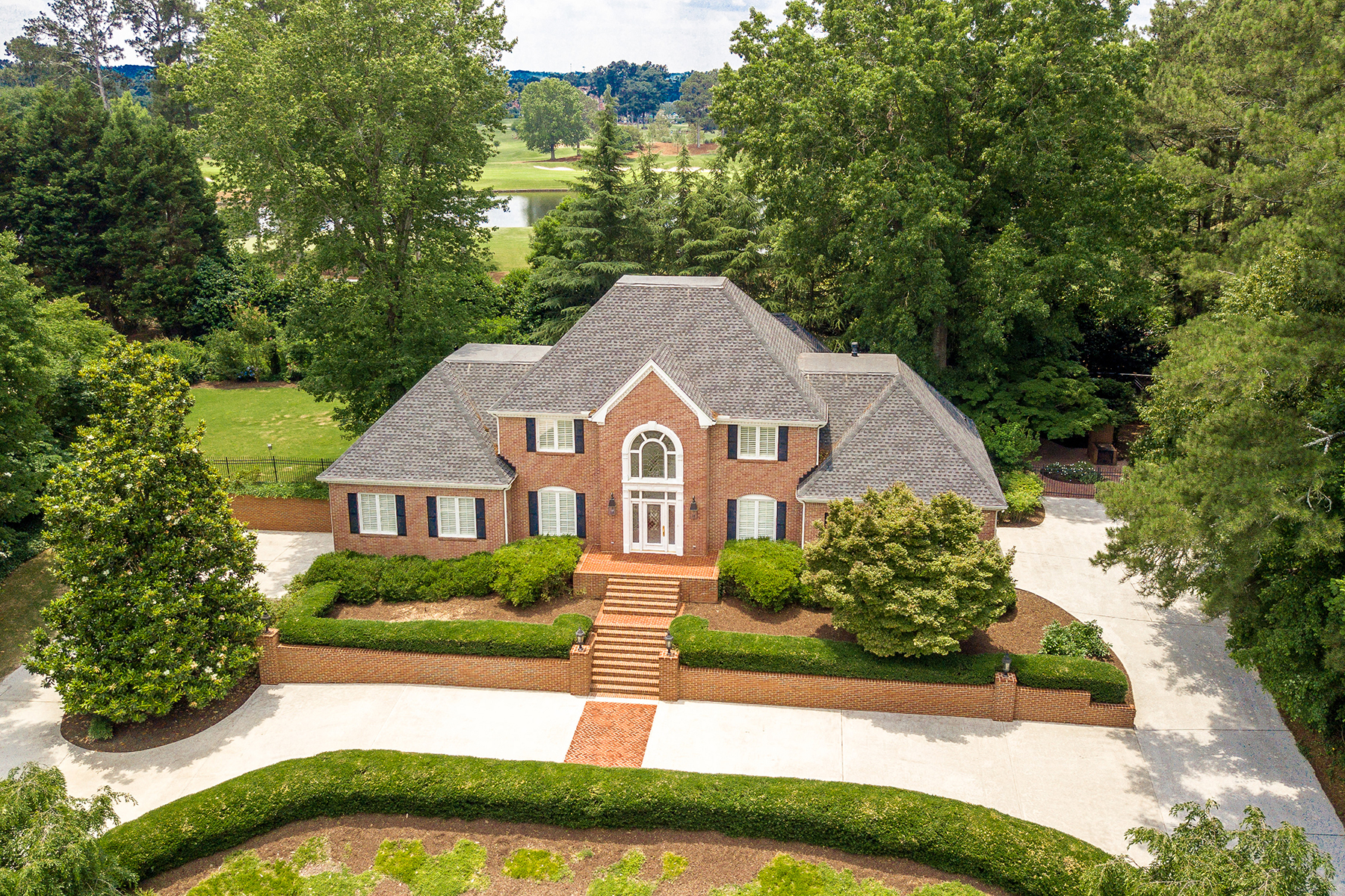 Single Family Home for Sale at Timeless Estate Home On The Atlanta Athletic Club Golf Course 9425 Riverclub Parkway Johns Creek, Georgia 30097 United States