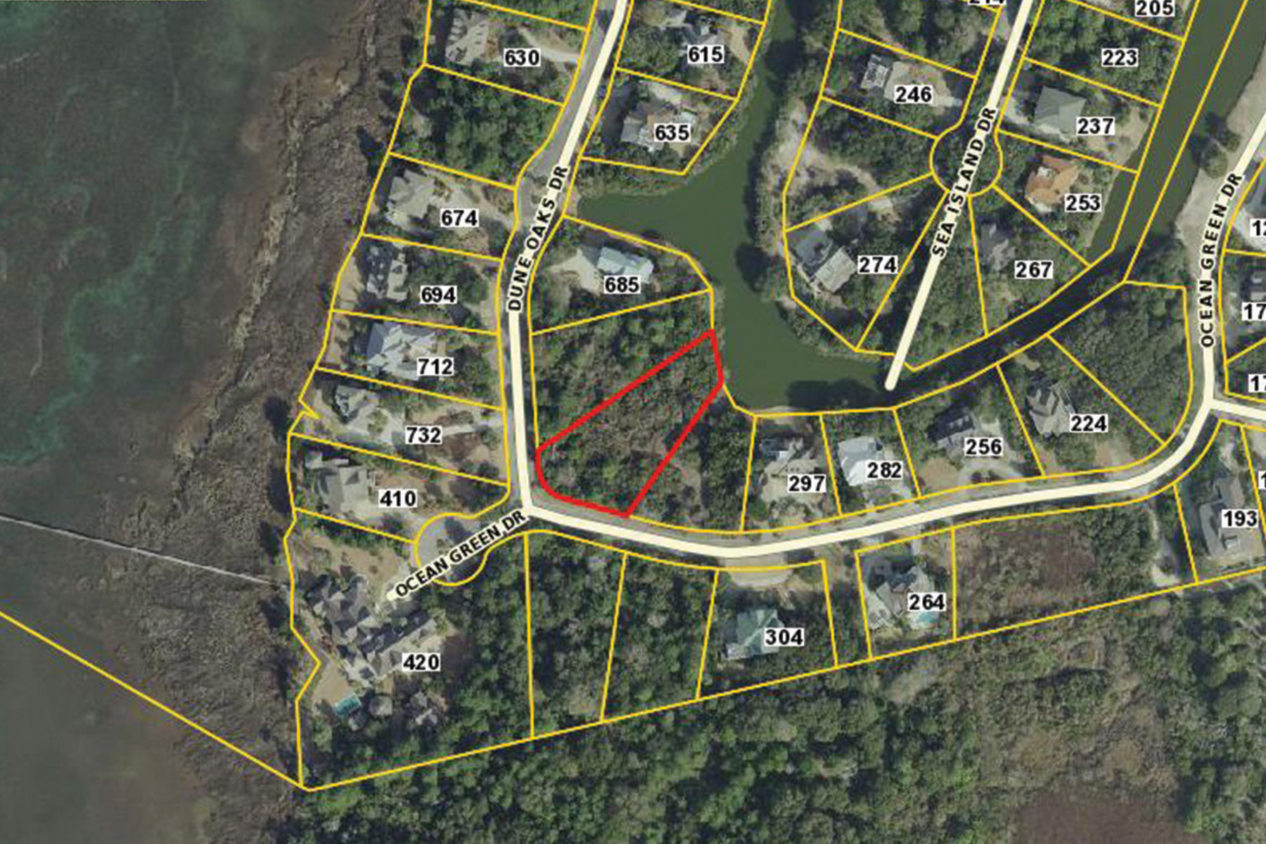 Terreno por un Venta en Lot 7 Ocean Green Drive, Georgetown, SC 29440 Lot 7 Ocean Green Drive Georgetown, Carolina Del Sur 29440 Estados Unidos