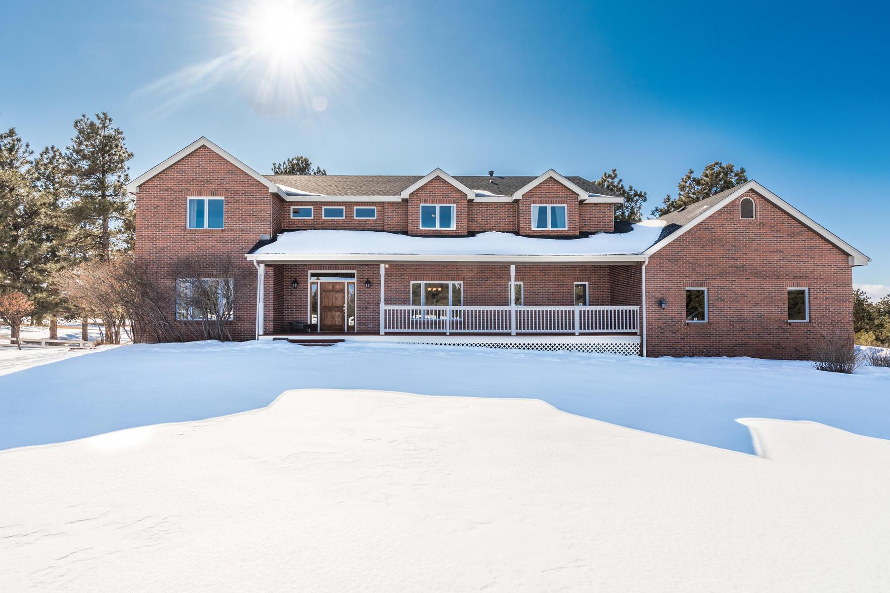 Single Family Homes のために 売買 アット 2075 Summit Street Franktown, コロラド 80116 アメリカ