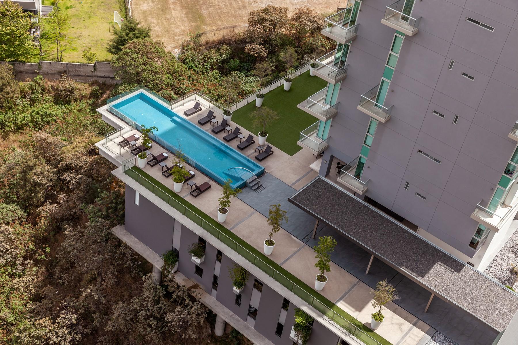 Apartments 용 매매 에 Apartment 10A Vista Magna, Cumbres, Zapopan AVENIDA CENTRAL 1315 10 A Zapopan, Jalisco 45010 멕시코