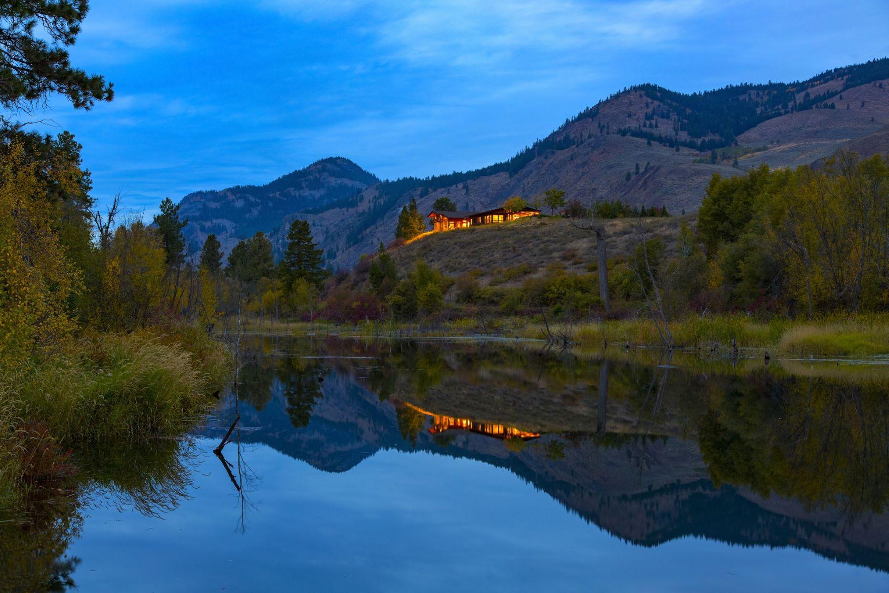 Ferme / Ranch / Plantation pour l Vente à BIG VALLEY RANCH 18874 Highway 20 Winthrop, Washington 98862 États-Unis