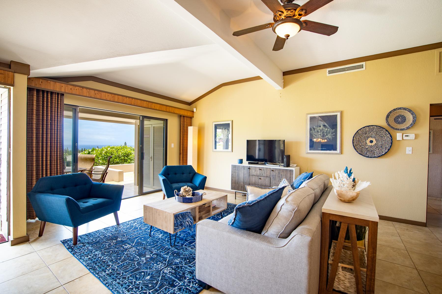 Condominiums 용 매매 에 Stunning Ocean View Golf Villa in Kapalua, Maui 500 Kapalua Drive, Kapalua Golf Villas 21P3-4, Kapalua, 하와이 96761 미국