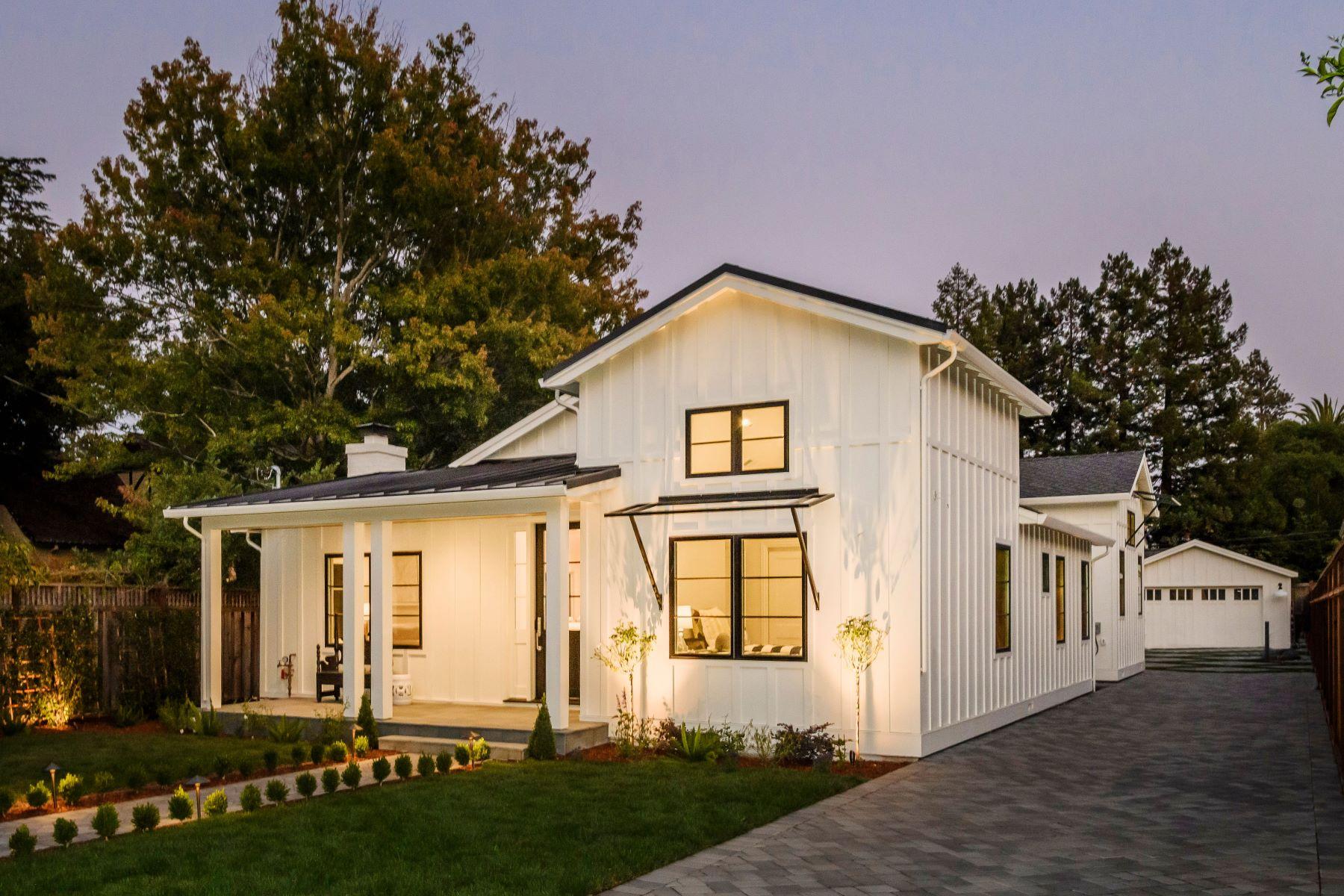 Single Family Homes 为 销售 在 Chic Custom Enclave in San Mateo Park 237 West Poplar Avenue 圣马特奥市, 加利福尼亚州 94402 美国