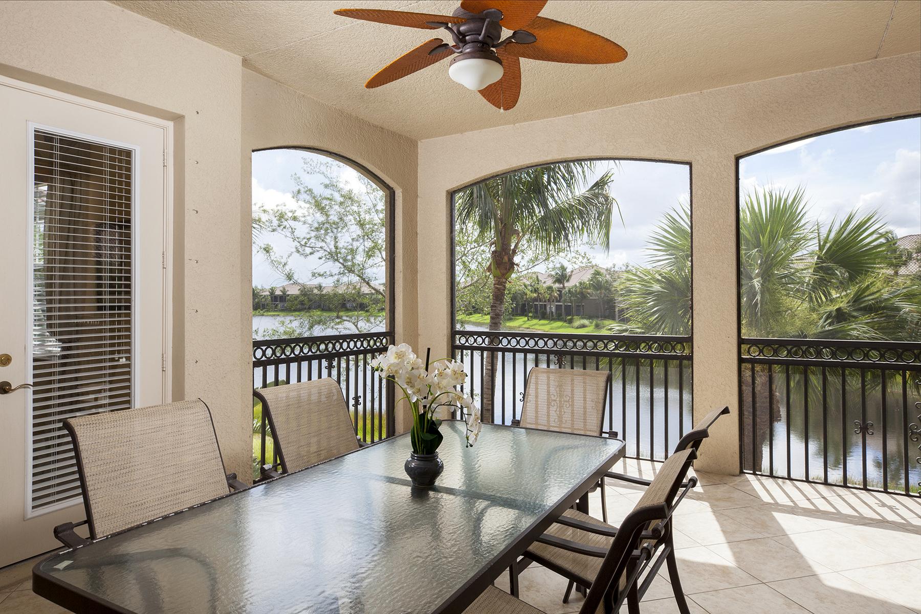 Condominiums por un Venta en FIDDLERS CREEK - VARENNA 9224 Campanile Circle , 203 Nápoles, Florida 34114 Estados Unidos