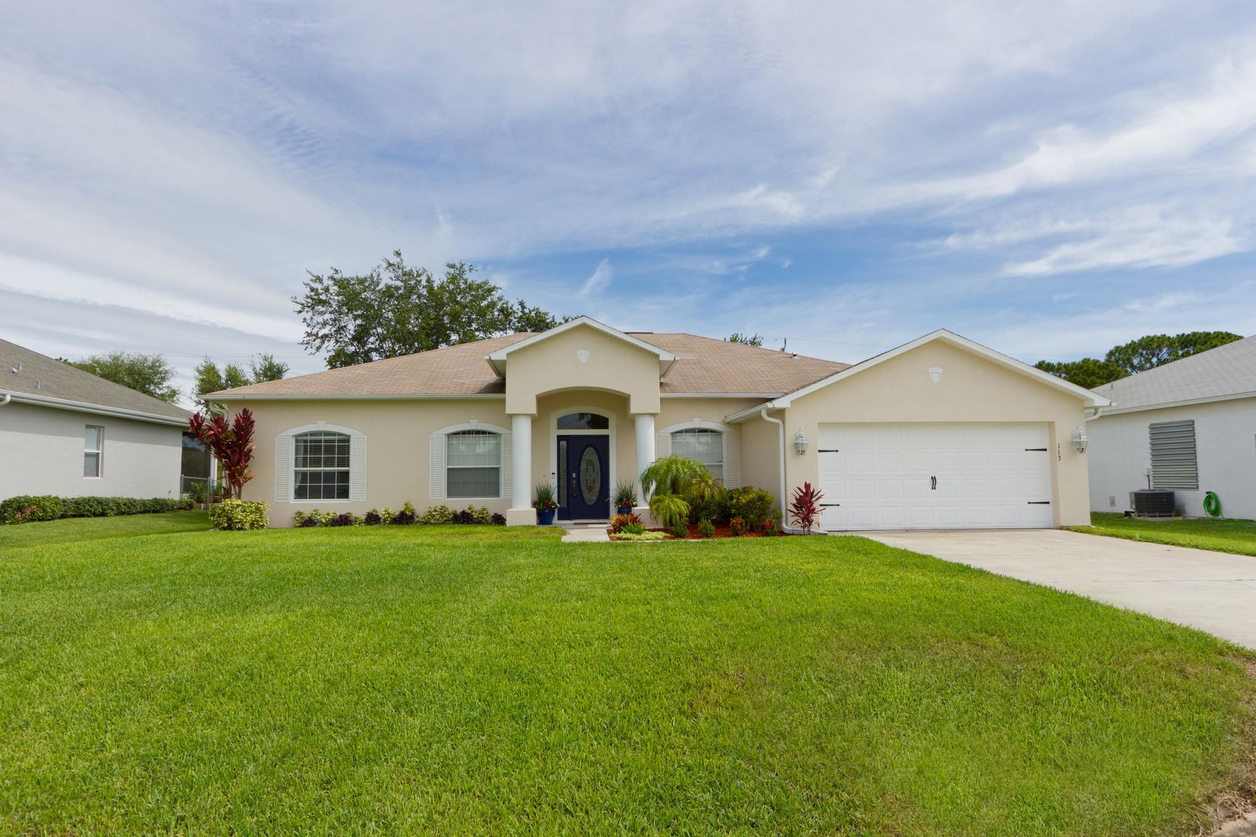 Property for Sale at Charming One Story Sebastian Home 113 Empire Terrace Sebastian, Florida 32958 United States