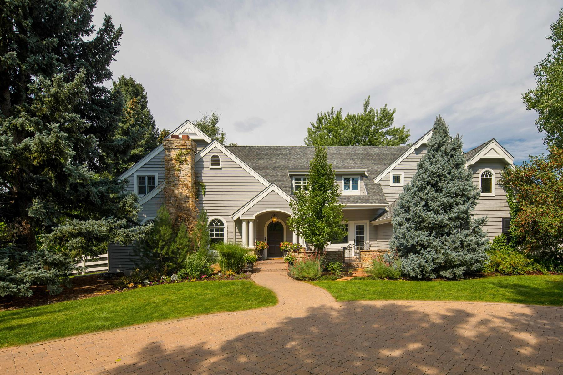 Property for Active at Reminiscent of coastal New England architecture! 4775 S Ogden St Cherry Hills Village, Colorado 80113 United States