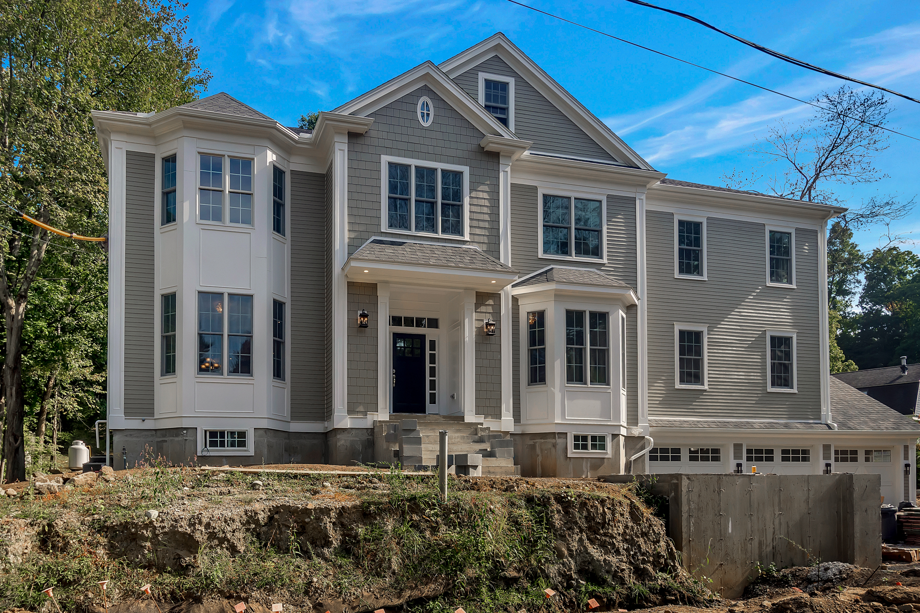 Single Family Homes 용 매매 에 New Construction Luxury 6 Bed Home in Winchester 5 Dean Road, Winchester, 매사추세츠 01890 미국