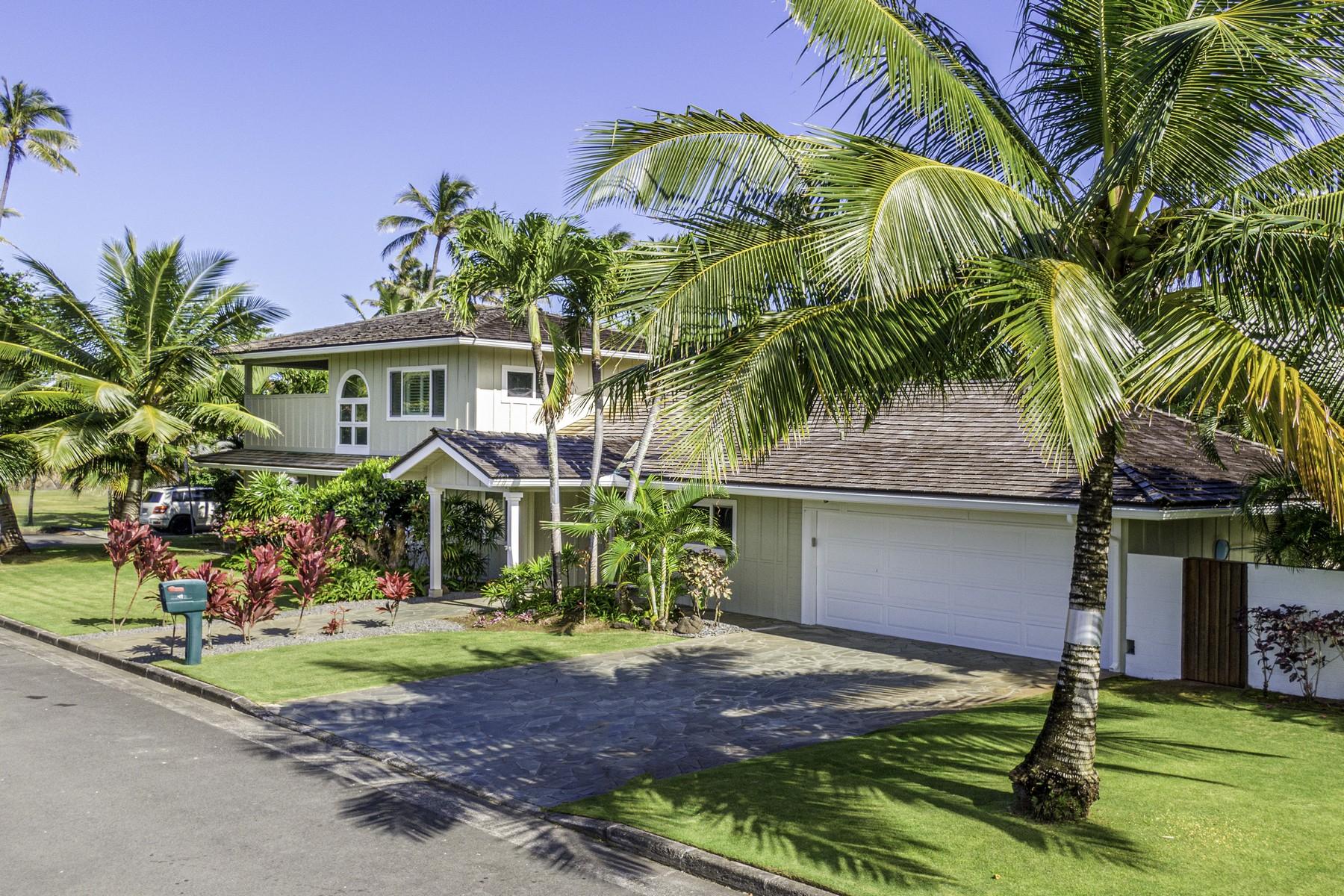 Single Family Homes for Sale at Kailua Beachside 61 Kaikea Pl Kailua, Hawaii 96734 United States
