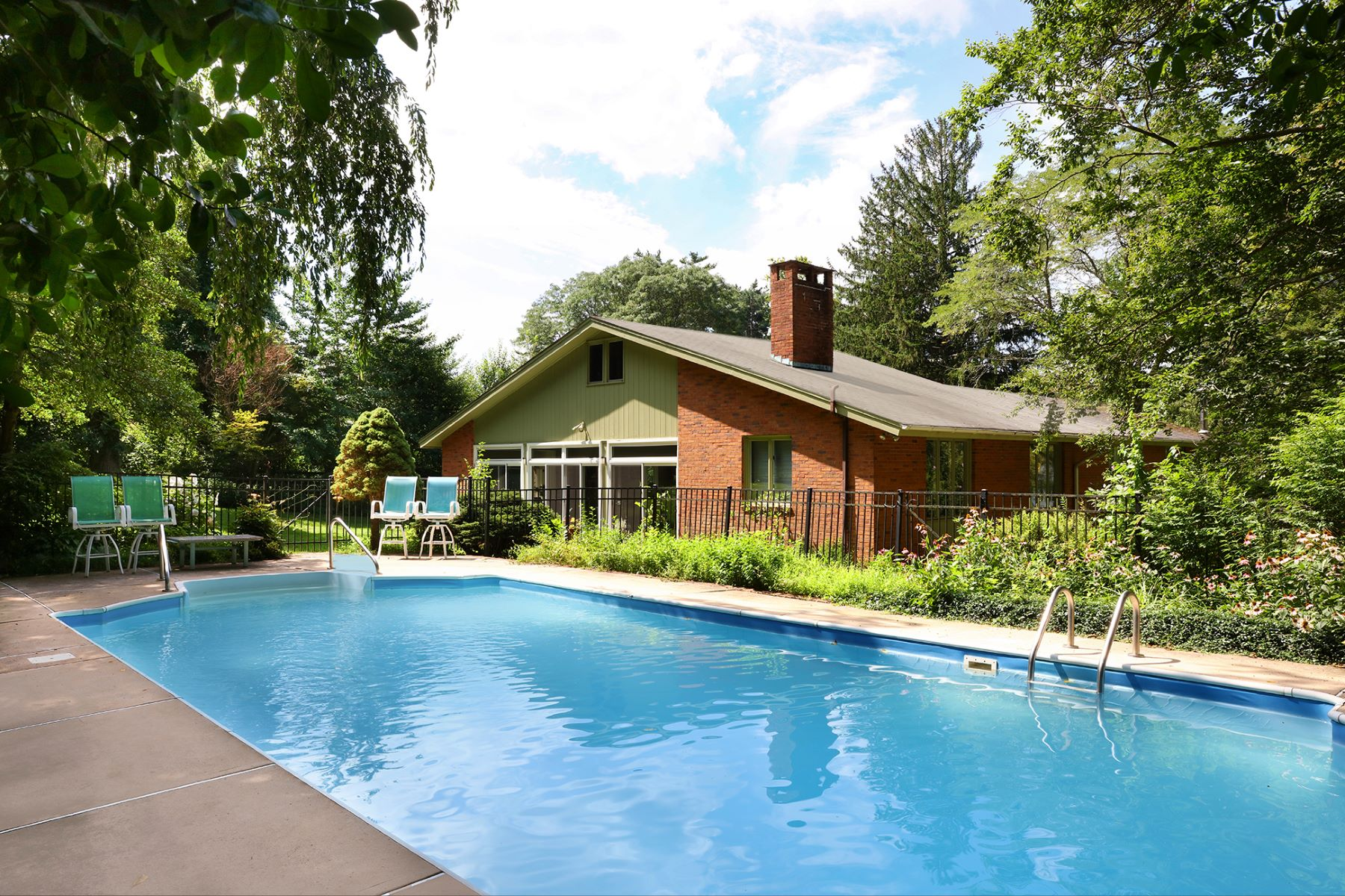 Property for Sale at Mid-Century Modern in Parkside Honors Nature 79 Parkside Drive, Princeton, New Jersey 08540 United States