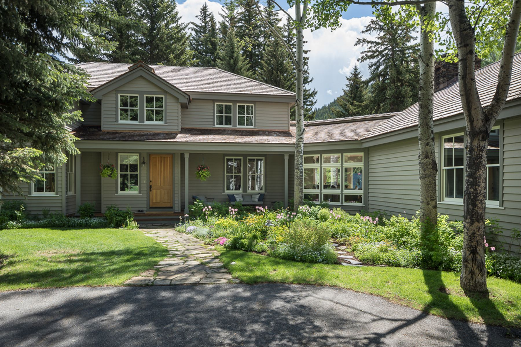 Single Family Home for Sale at A World Unto Itself 2440 Stonecrop Rd. Wilson, Wyoming, 83014 Jackson Hole, United States