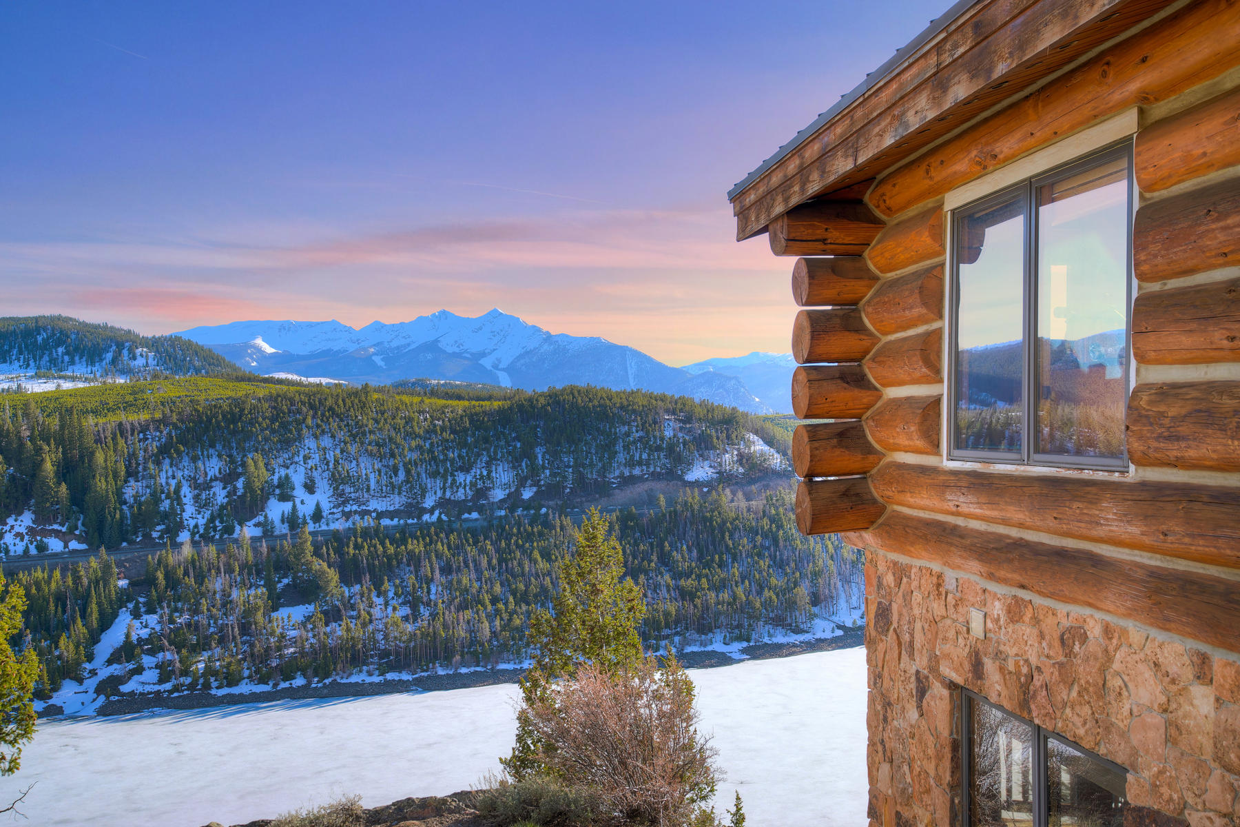 Single Family Homes for Sale at Stunning Views of Lake Dillon 263 High Meadow Drive Dillon, Colorado 80435 United States