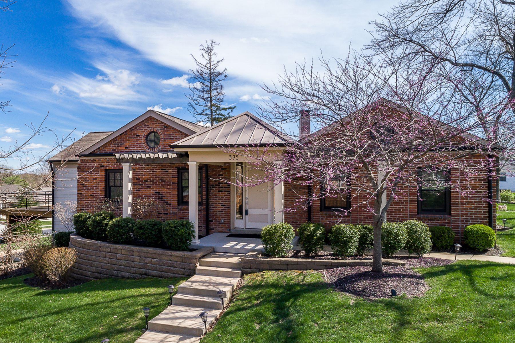 واحد منزل الأسرة للـ Sale في Champion Way Drive 375 Champion Way Drive Ballwin, Missouri, 63011 United States