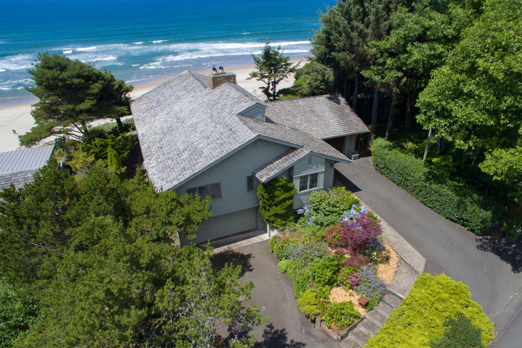 Single Family Homes pour l Vente à High Bluff Oceanfront 37980 Beulah Reed Road, Manzanita, Oregon 97130 États-Unis