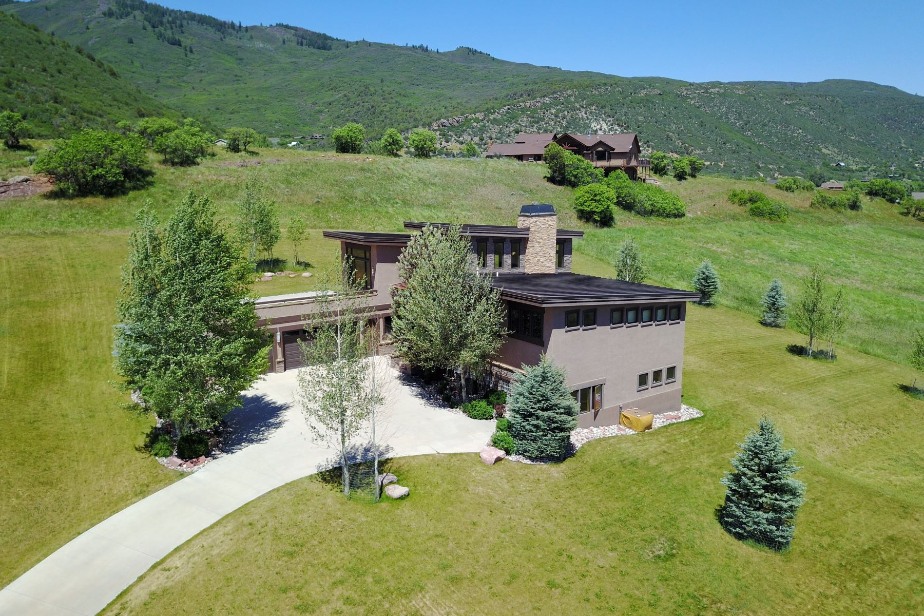 Single Family Home for Sale at Mountain Modern Home in Springridge Reserve 341 Spring View Drive, Glenwood Springs, Colorado, 81601 United States