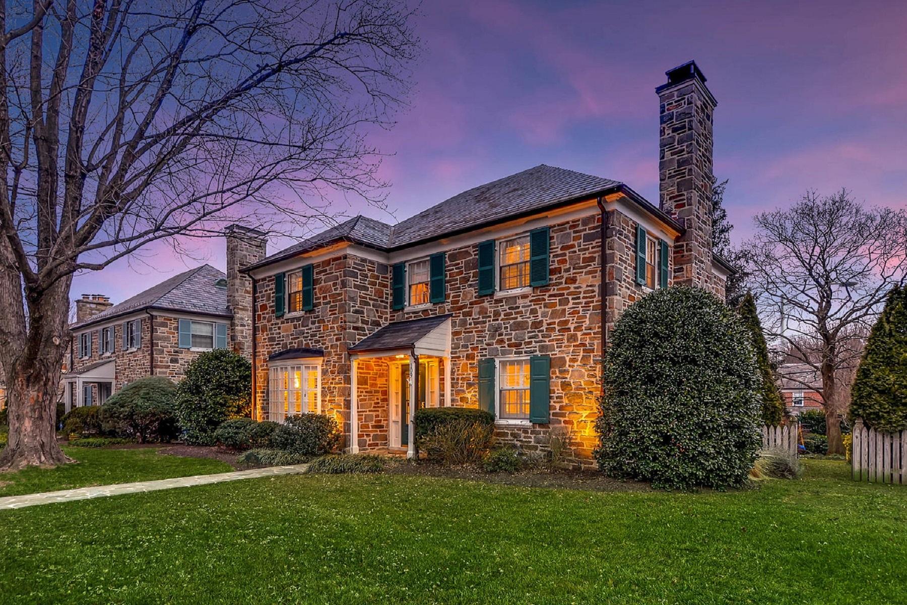 独户住宅 为 销售 在 Homeland 109 Croydon Road, Homeland, 巴尔的摩, 马里兰州, 21212 美国