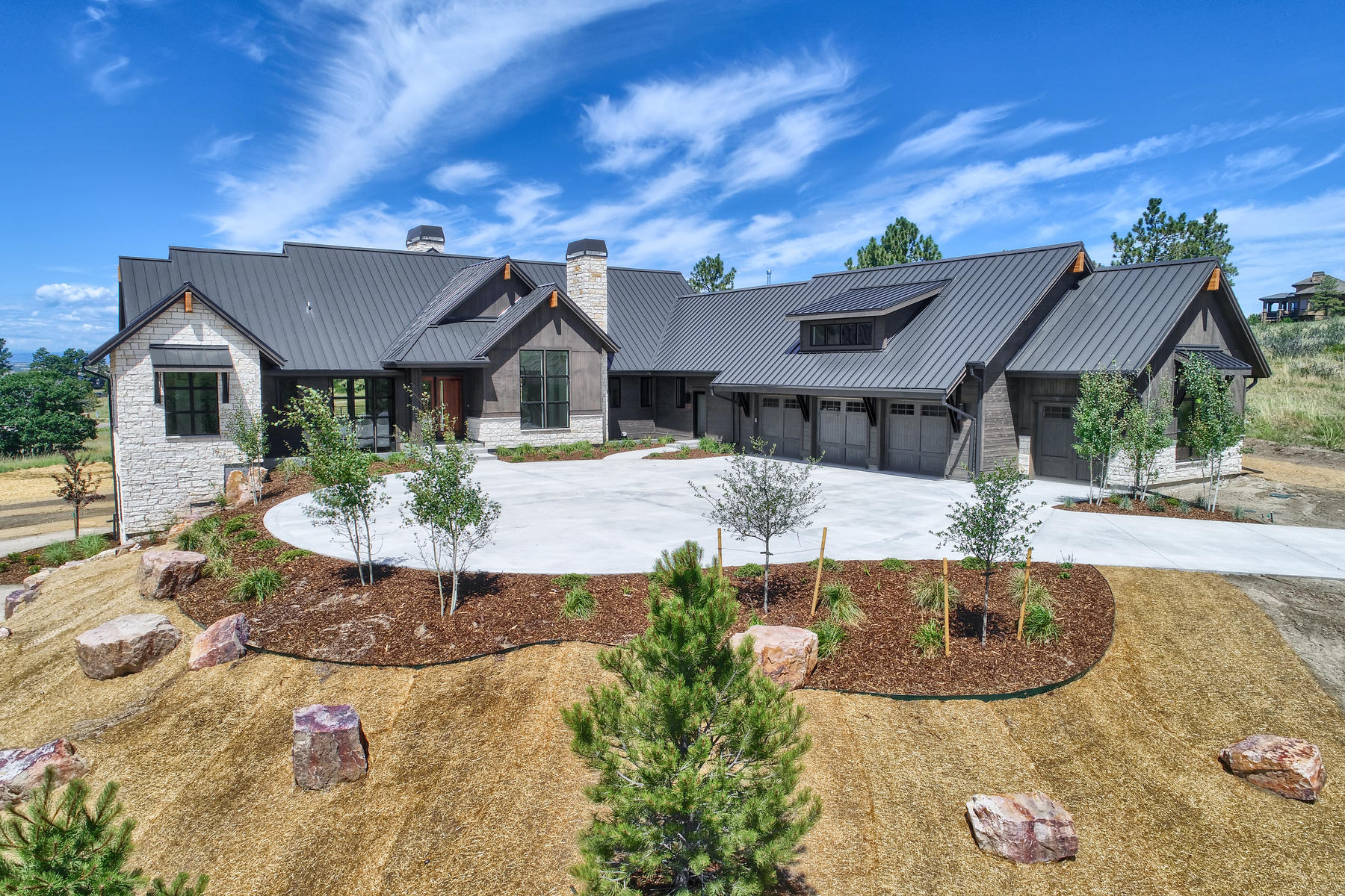 Single Family Homes 为 销售 在 Come see this amazing Contemporary Farm house 7329 Eagle Moon Court 帕克, 科罗拉多州 80134 美国