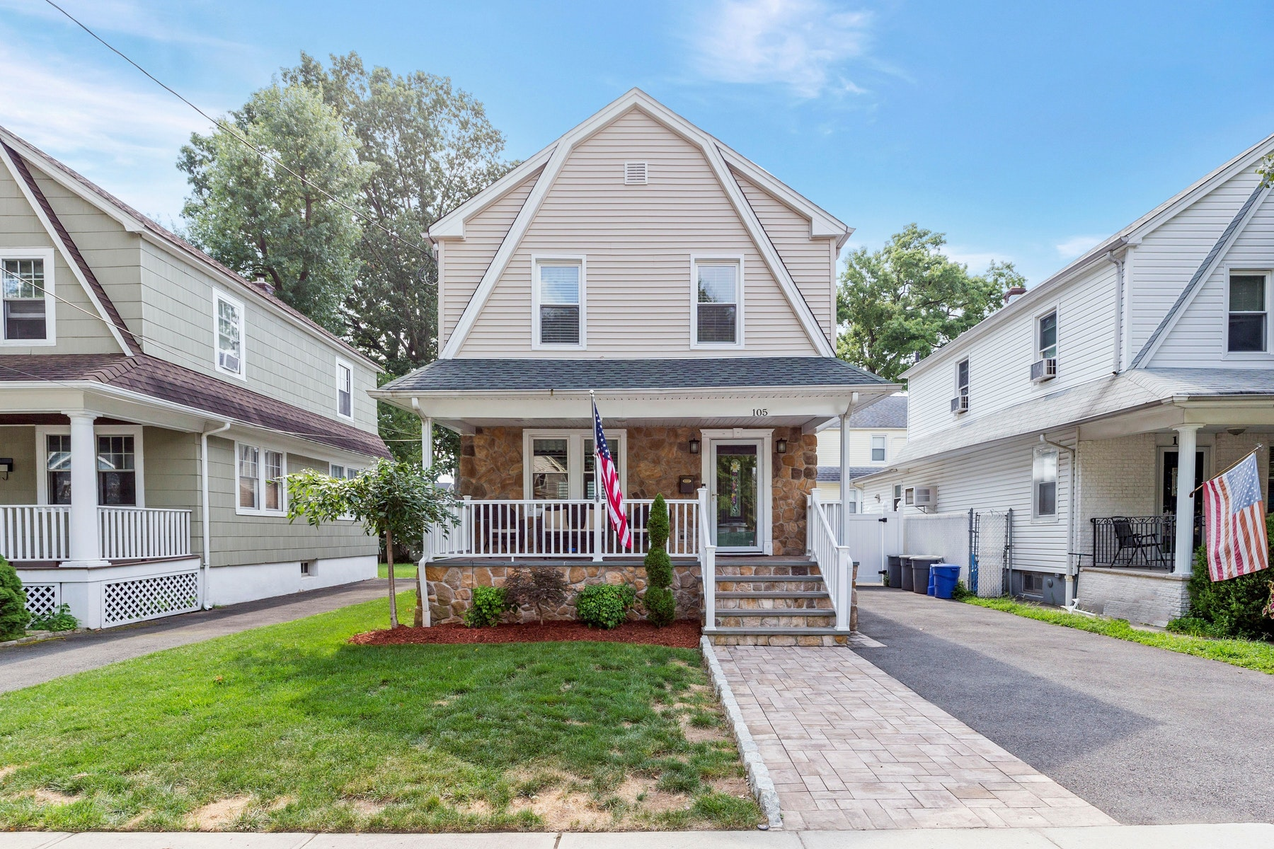 Single Family Homes for Sale at Old World Charm 105 S Michigan Ave Kenilworth, New Jersey 07033 United States