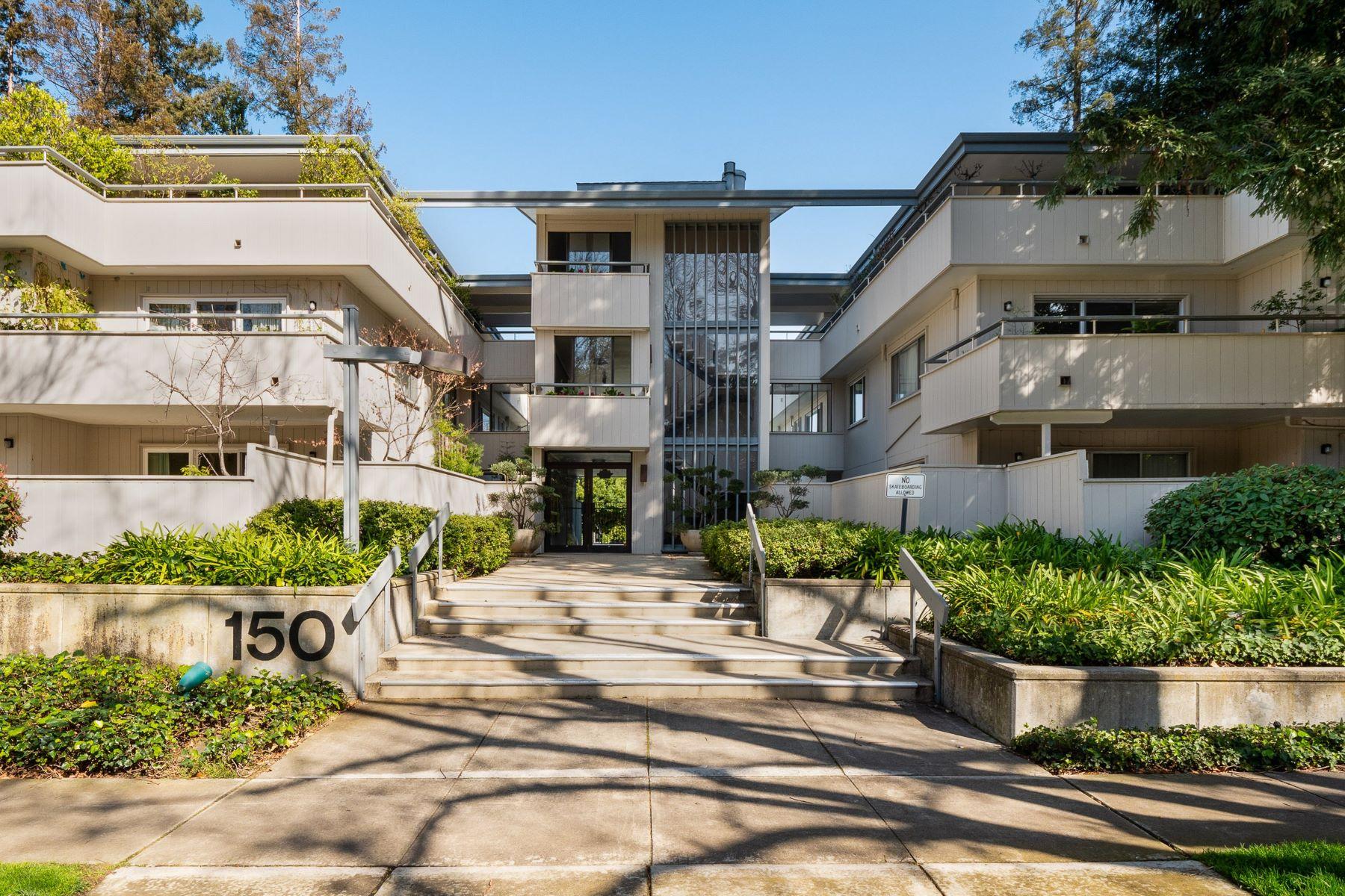 Condominiums for Active at Private Burgess Park Condominium 150 Alma Street Unit # 210 Menlo Park, California 94025 United States